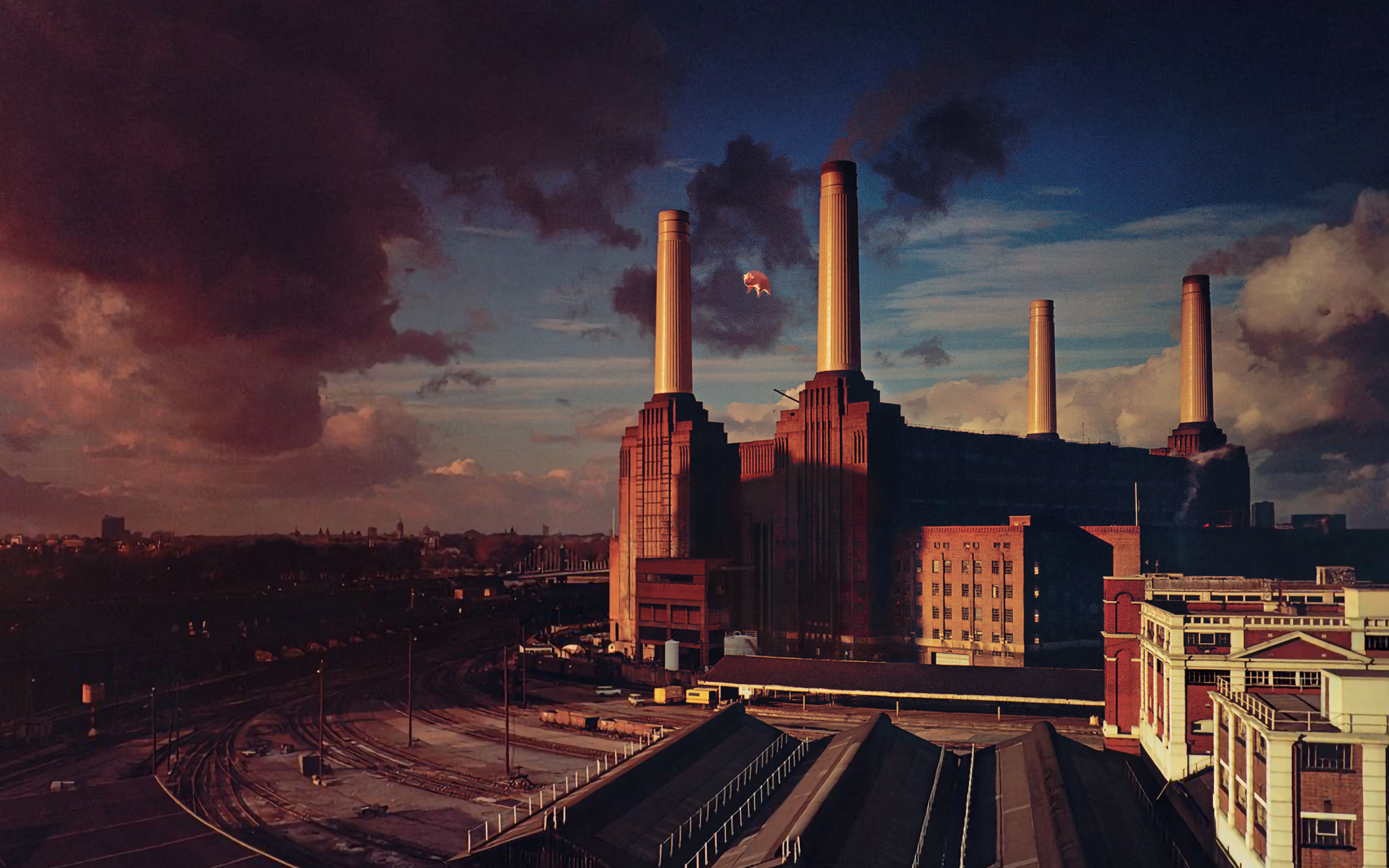 2880x1800 Pink Floyd Animals Album Cover Macbook Pro Retina Wallpaper Hd Music 4k Wallpapers Images Photos And Background