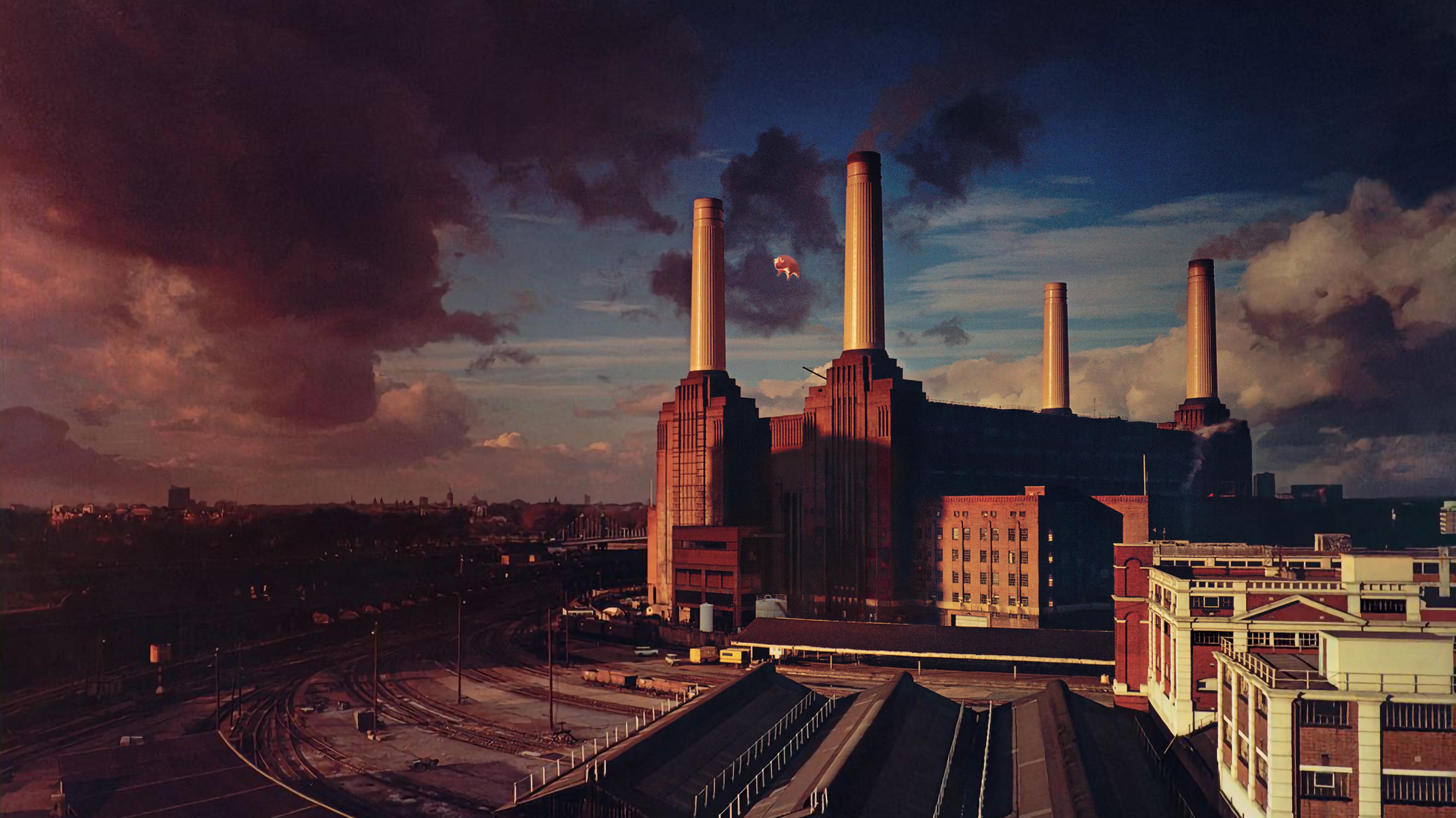 3840x2160 Pink Floyd Animals Album Cover 4k Wallpaper Hd Music 4k