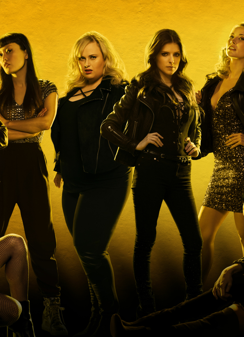 Pitch Perfect 3 Cast Poster, HD 4K Wallpaper