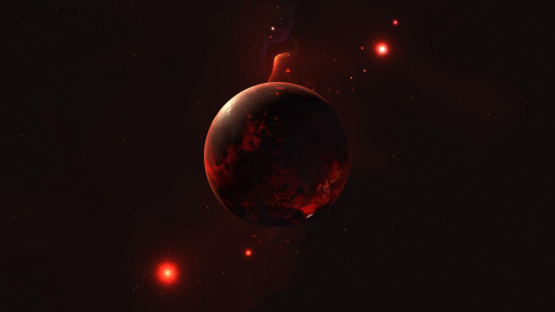 1920x1080 Planet In Space 1080p Laptop Full Hd Wallpaper Hd