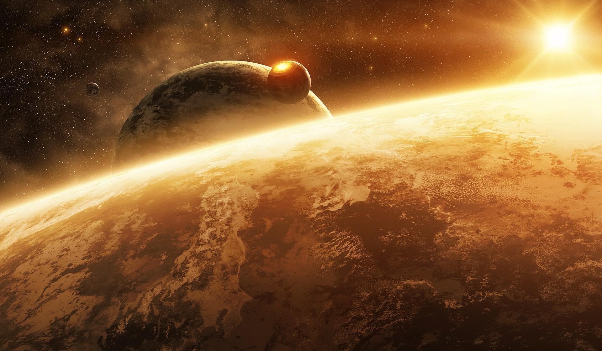 Download Galaxy Note 5 Galaxy S6 Edge Full Hd Stock: Planet, Space, Sun, Full HD Wallpaper