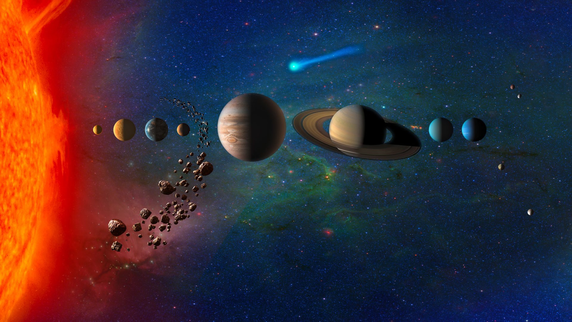 1920x1080 Planets In Solar System Galaxy 1080p Laptop Full