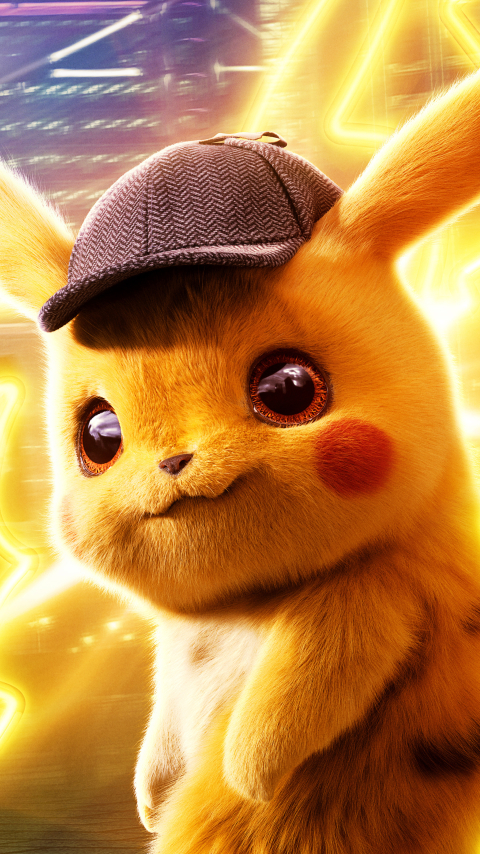 480x854 Pokémon Detective Pikachu 4K Android One Mobile ...