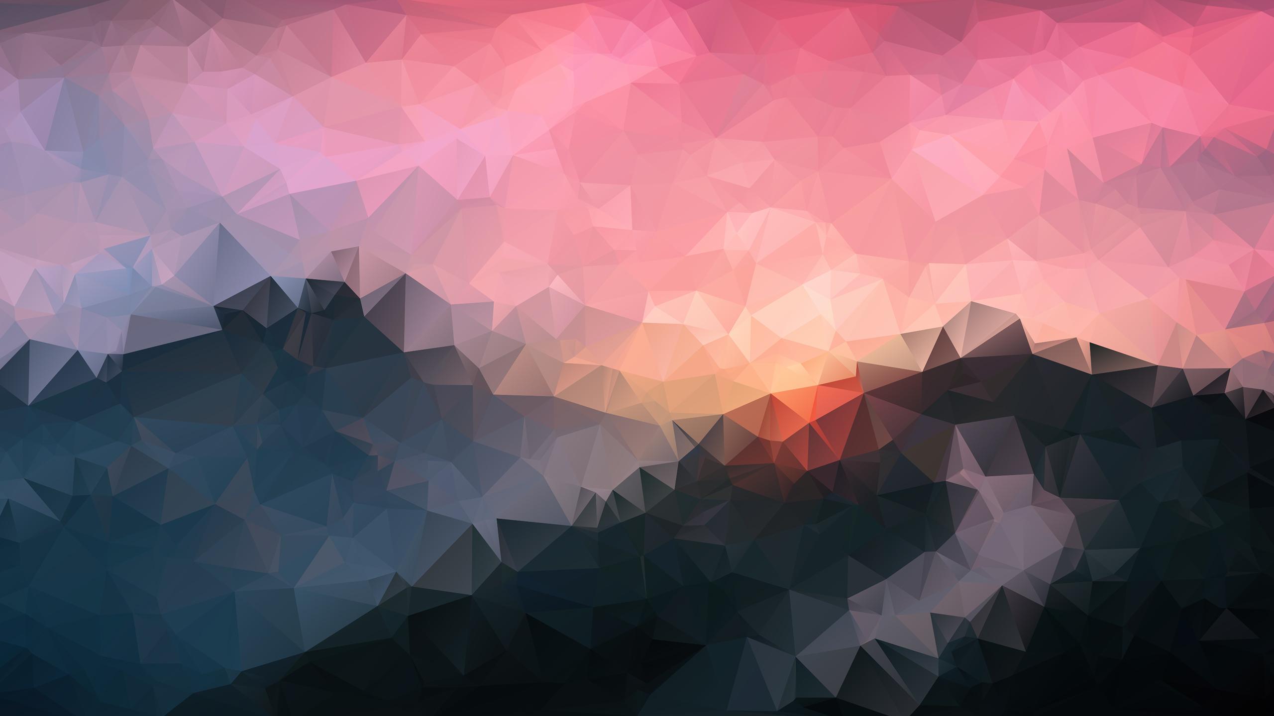 Good Wallpaper Mountain Polygon - polygon-mountains_62088_2560x1440  Picture_42398.jpg
