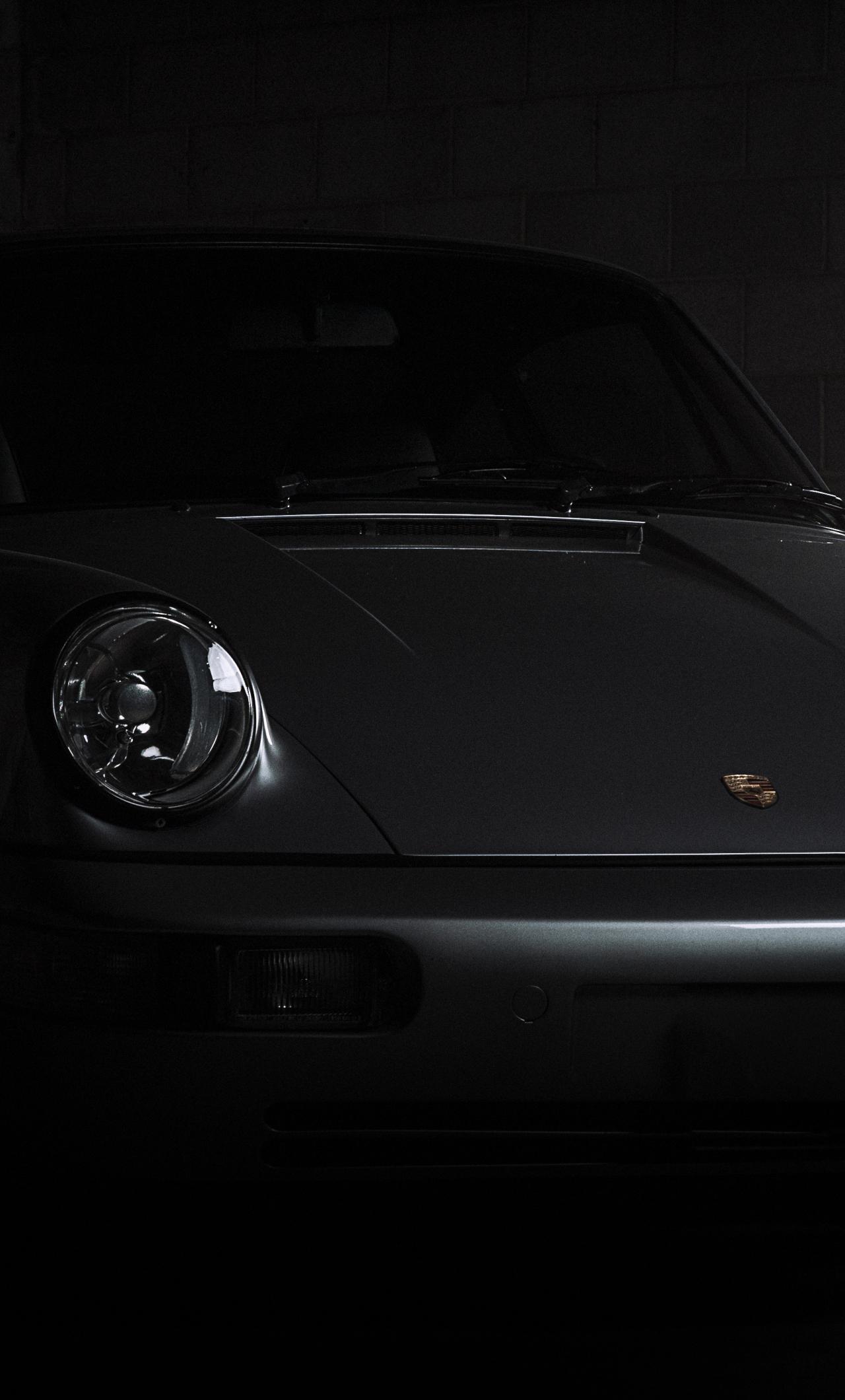 1280x2120 Porsche 911 Carrera Black Iphone 6 Plus Wallpaper