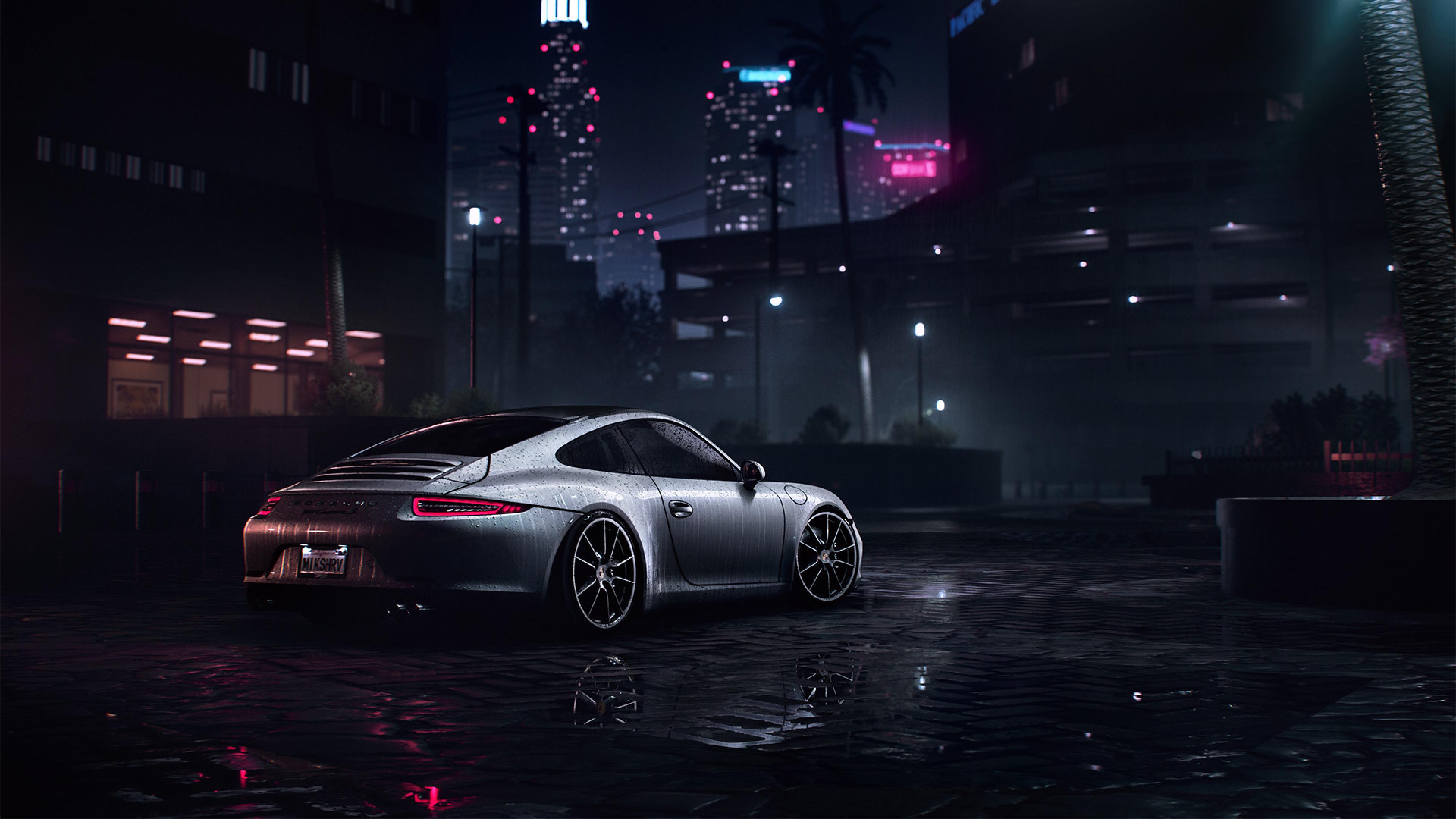 3840x2160 Porsche 911 Carrera S Need For Speed 4k Wallpaper Hd