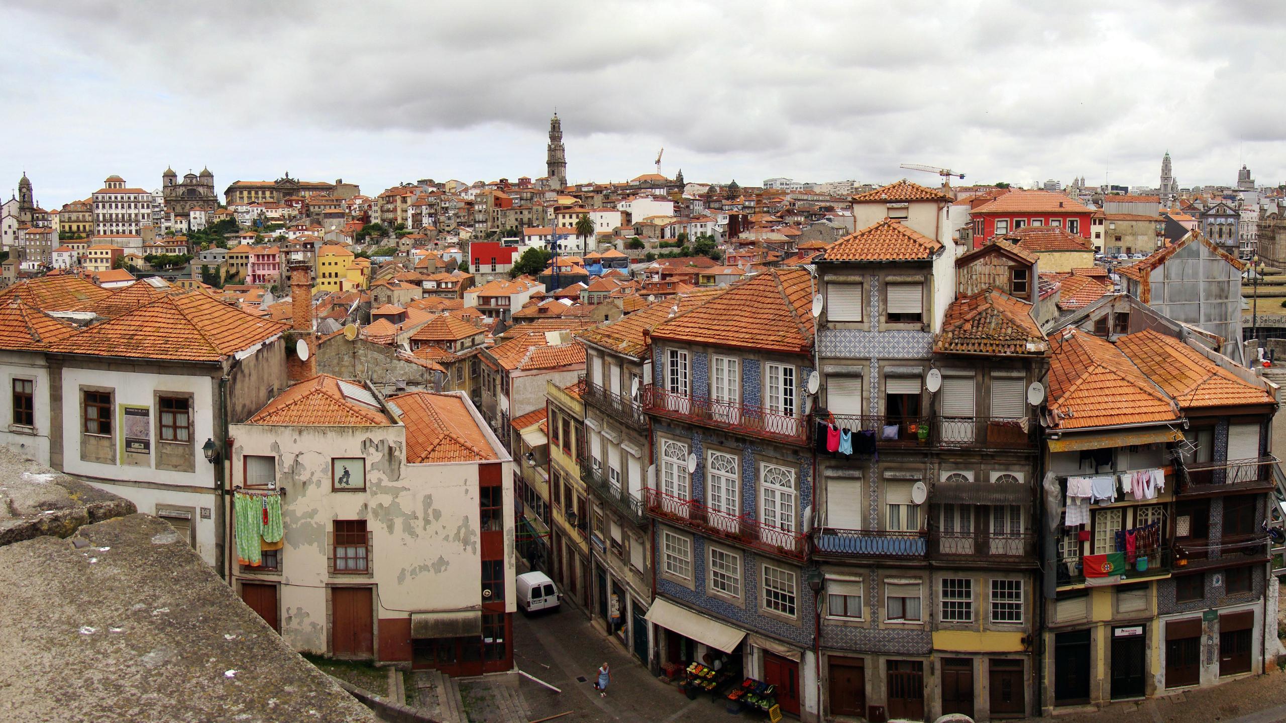 2560x1440 portugal, porto, old town 1440P Resolution ...