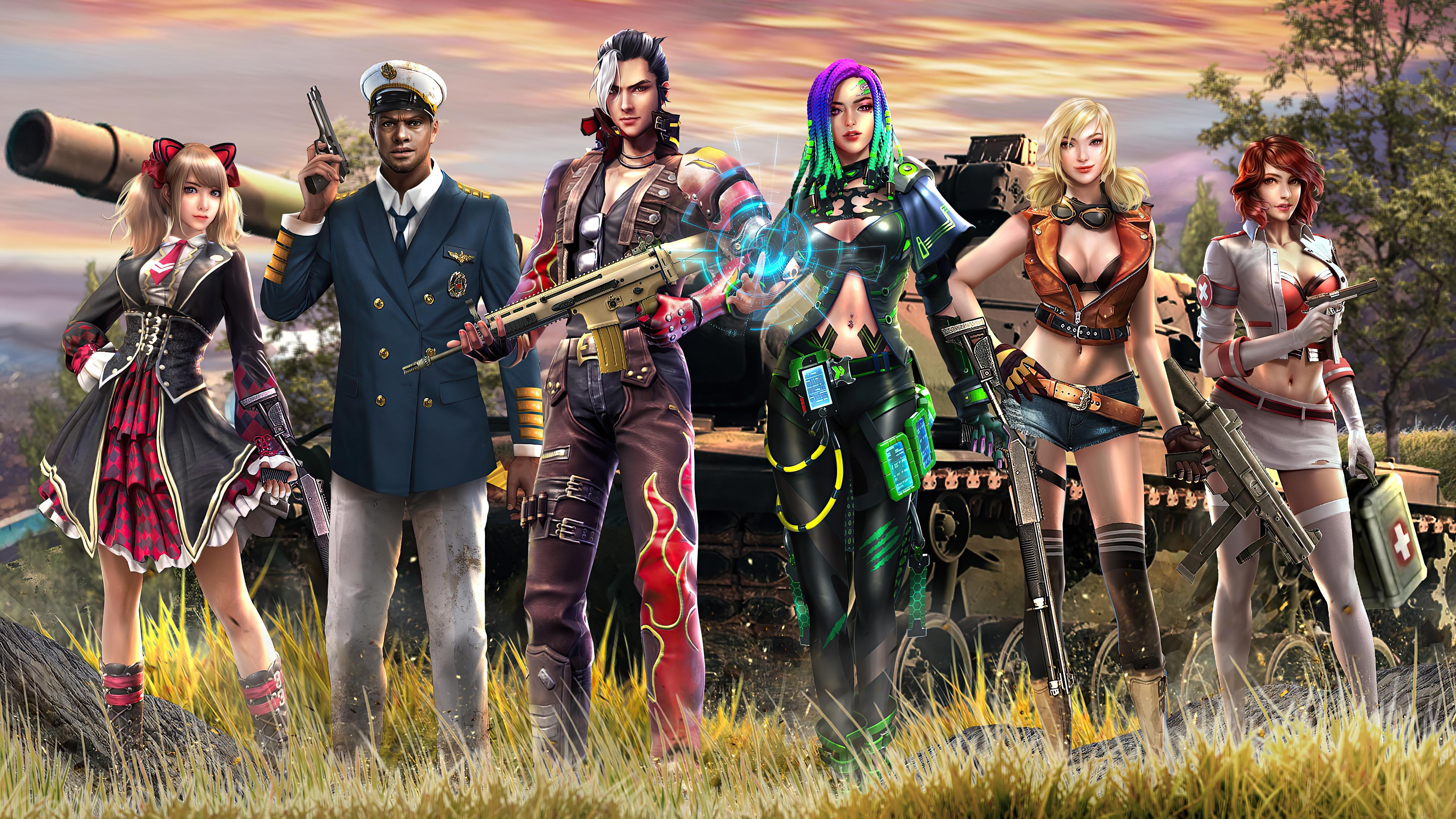 Poster KeArt Garena Free Fire Wallpaper, HD Games 4K ...