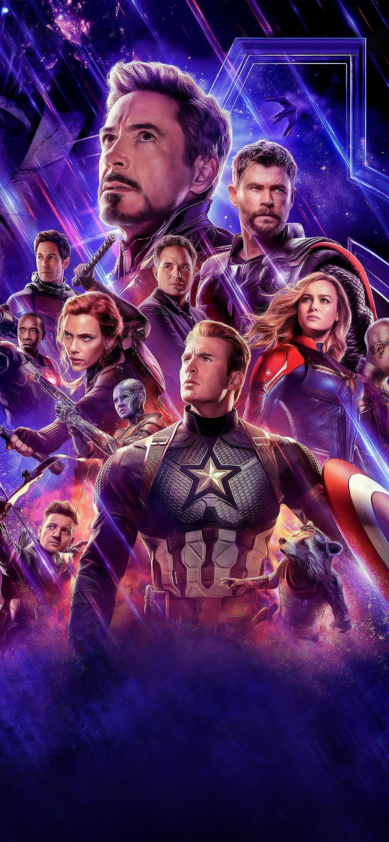 1242x2688 Poster Of Avengers Endgame Movie Iphone Xs Max Wallpaper