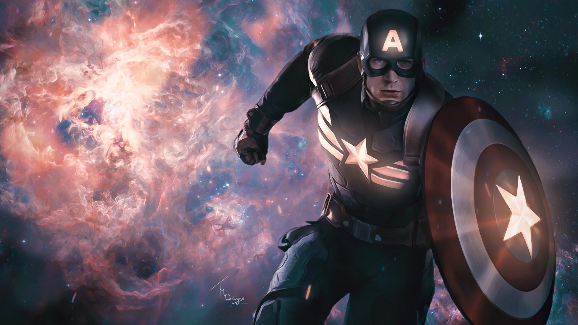 1920x1080 Poster of Captain America 1080P Laptop Full HD ...