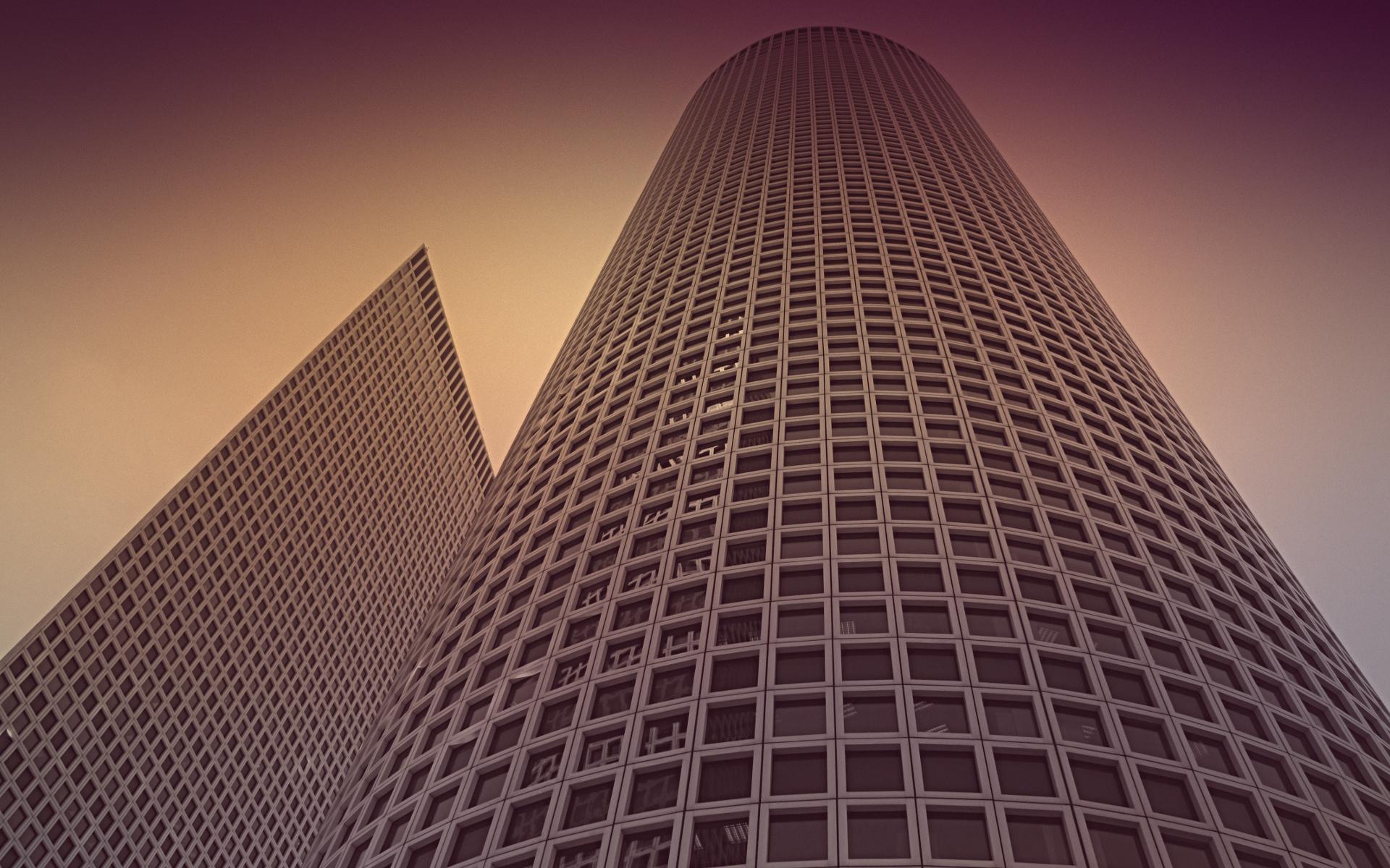 Postmodern, Building, Tower Wallpaper, HD City 4K