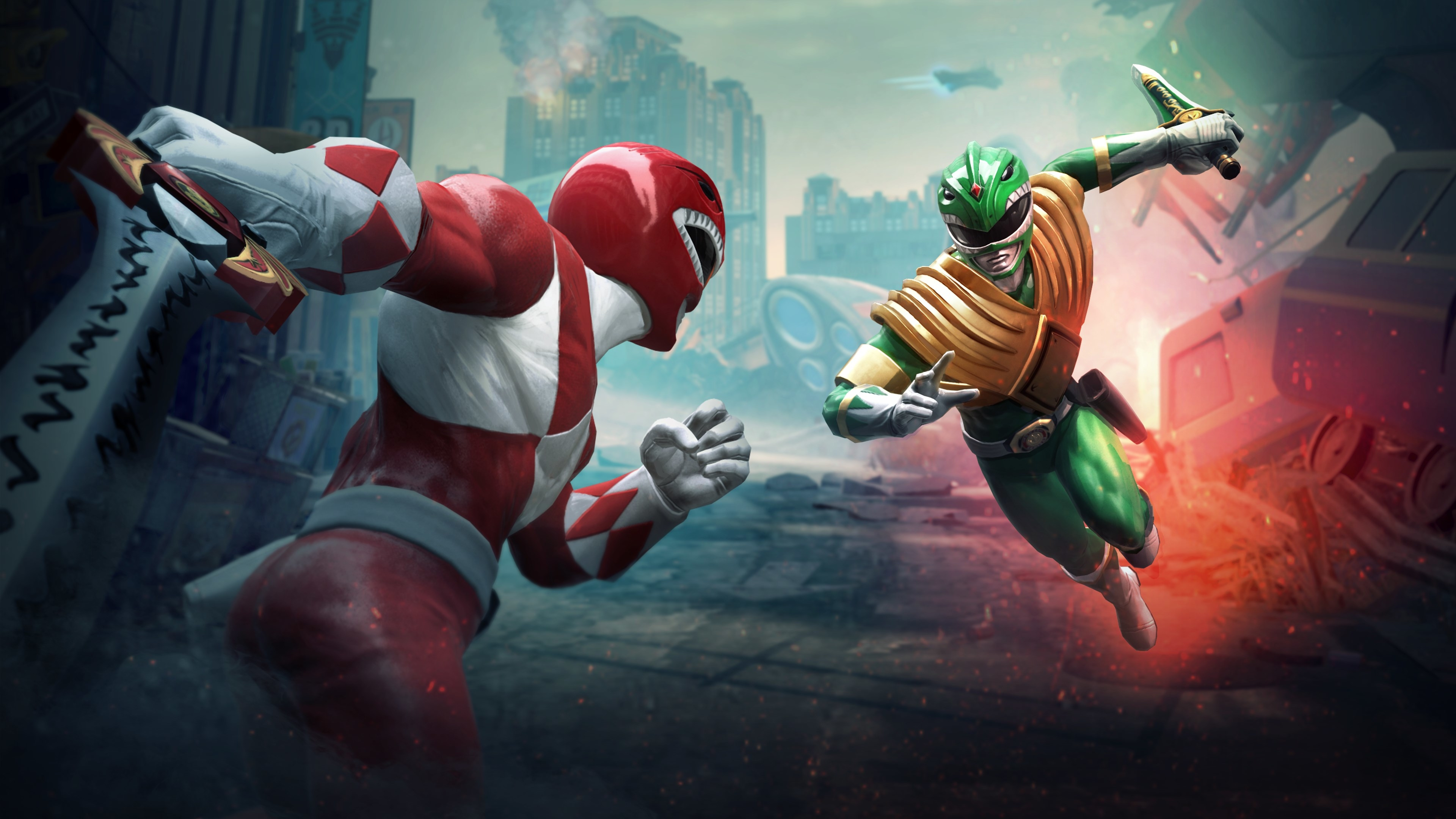 2560x1080 Power Rangers Battle For The Grid Game 2560x1080
