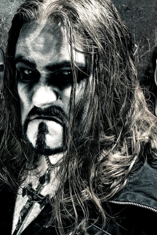 320x480 Powerwolf Band Faces Apple Iphoneipod Touch