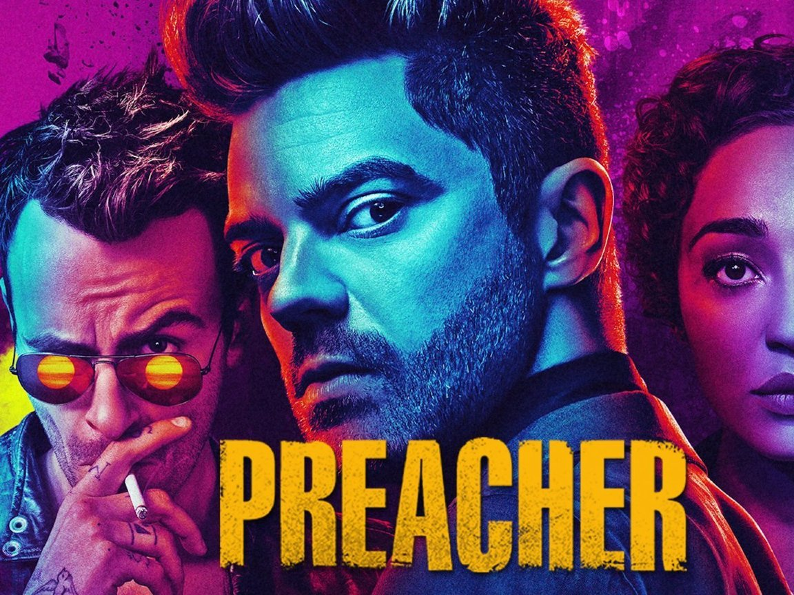 preacher tv show  full hd wallpaper