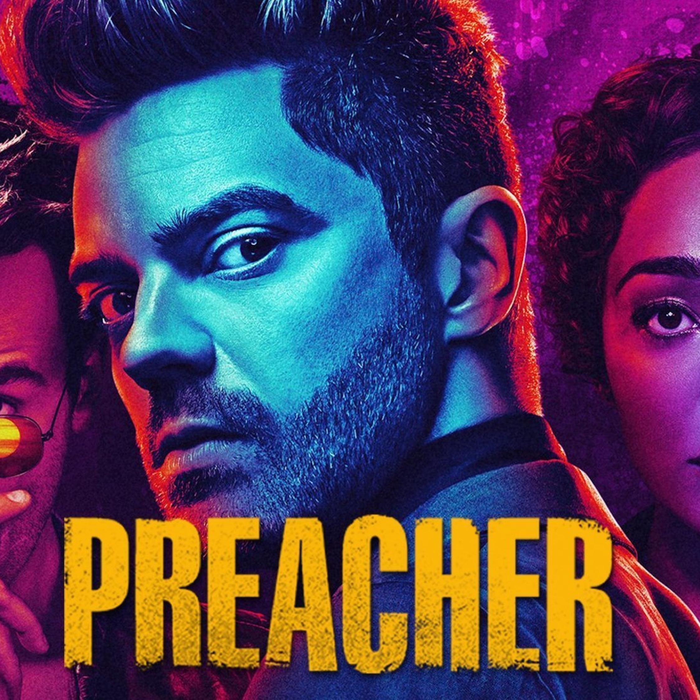 Preacher Tv Show, Full HD Wallpaper