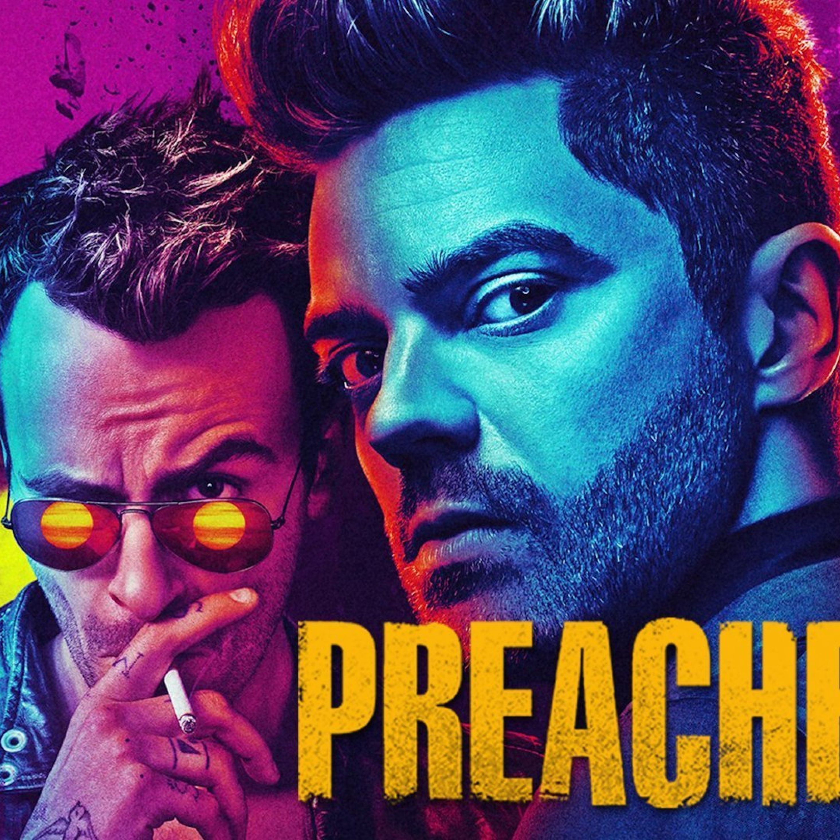 Preacher Tv Show, Full HD Wallpaper