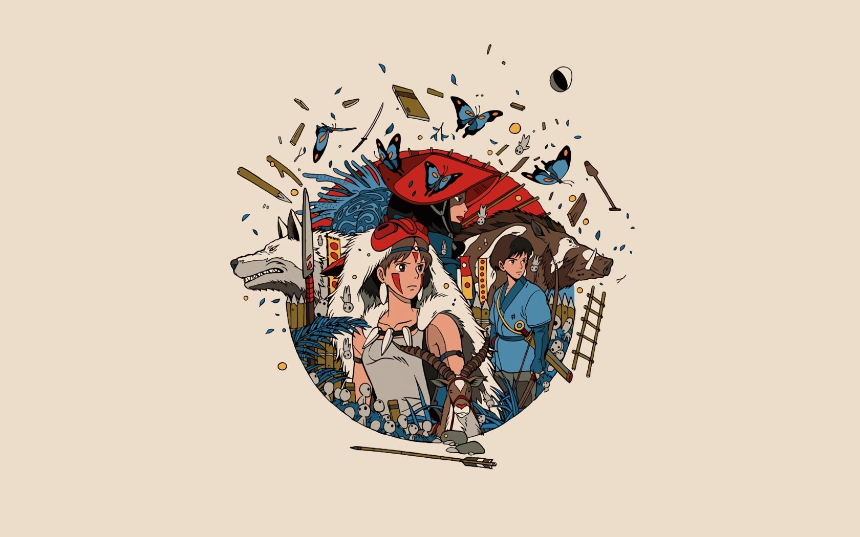 Princess mononoke full hd 2k wallpaper - Mononoke anime wallpaper ...