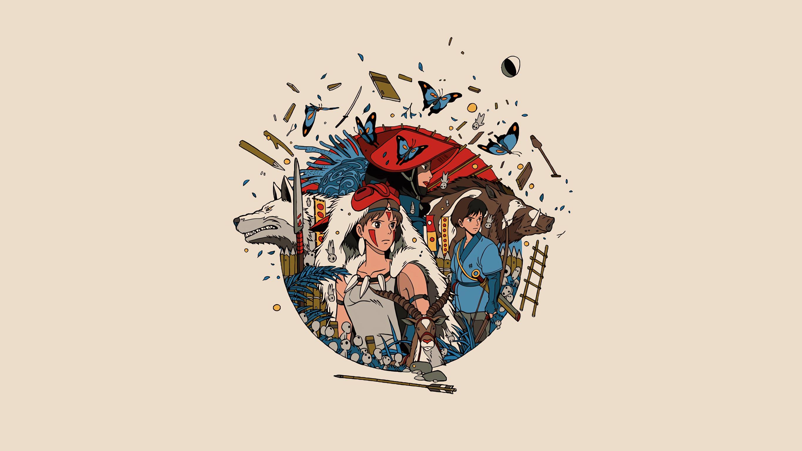 1242x2688 Princess Mononoke Iphone Xs Max Wallpaper Hd Anime 4k