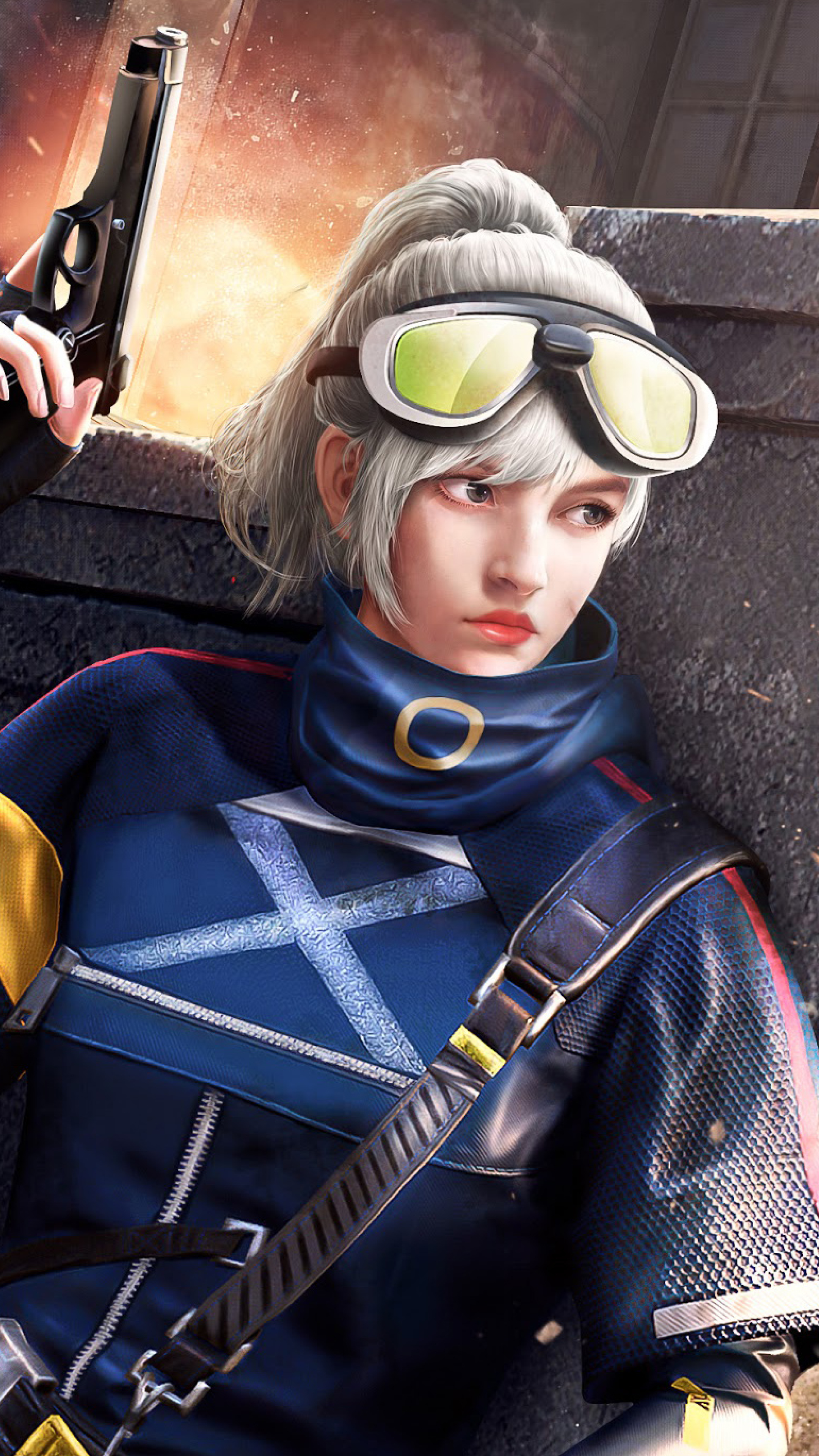 2160x3840 Sniper Girl Playerunknowns Battlegrounds Sony