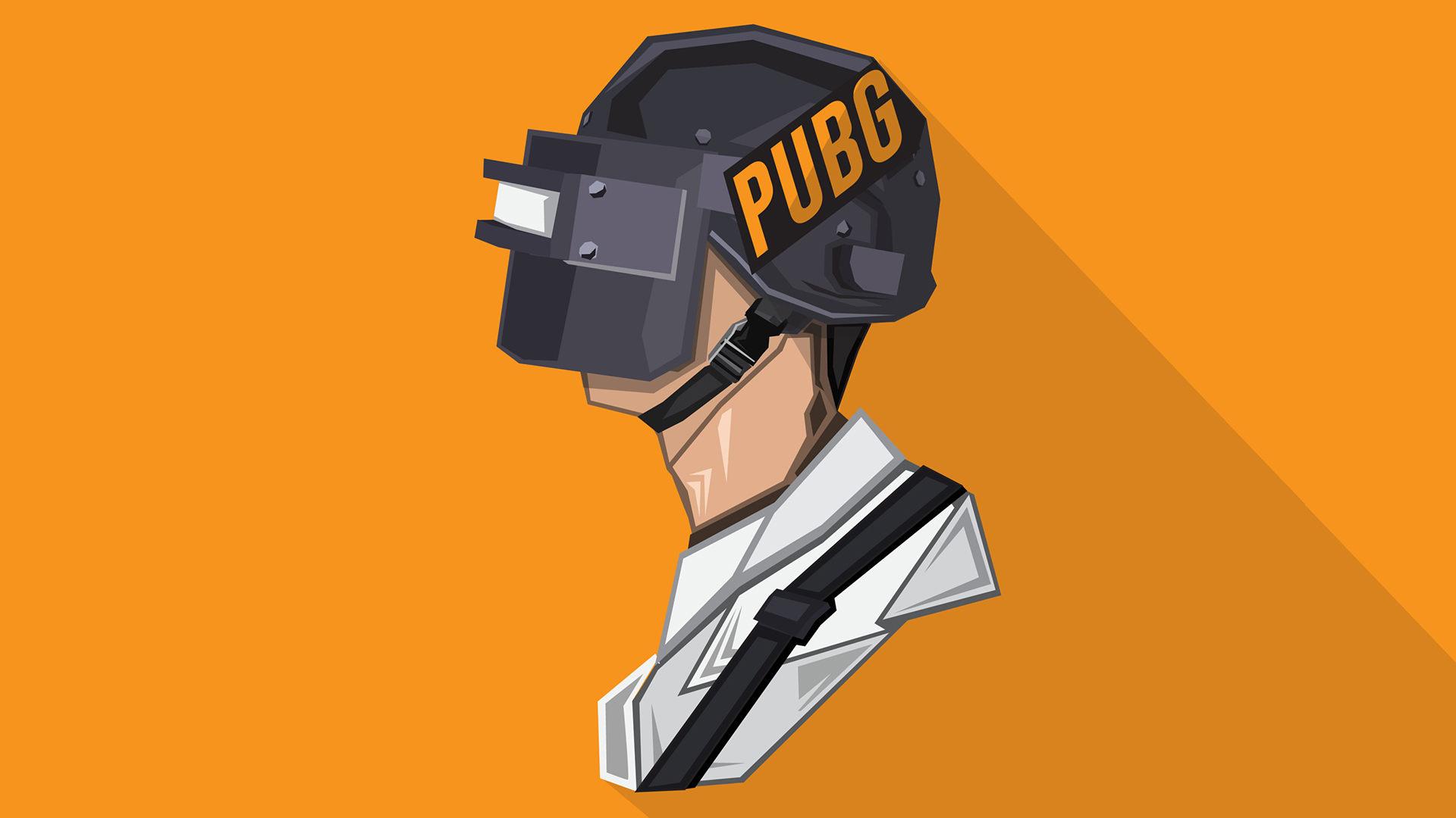 1366x768 Pubg Game Girl Fanart 1366x768 Resolution Hd 4k: Pubg Minimalist Pophead, Full HD Wallpaper