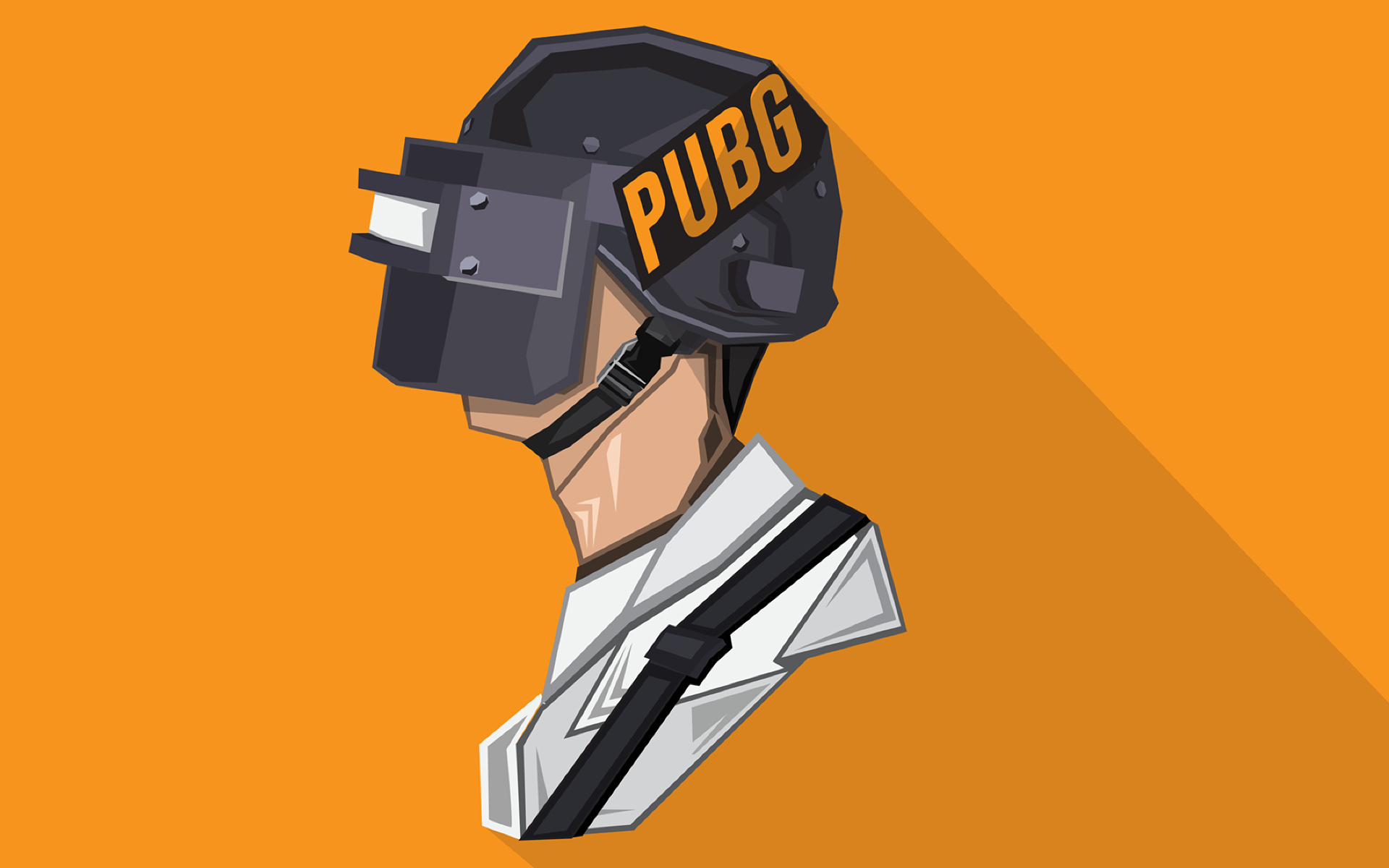 Download Pubg Minimalist Pophead 7680x4320 Resolution