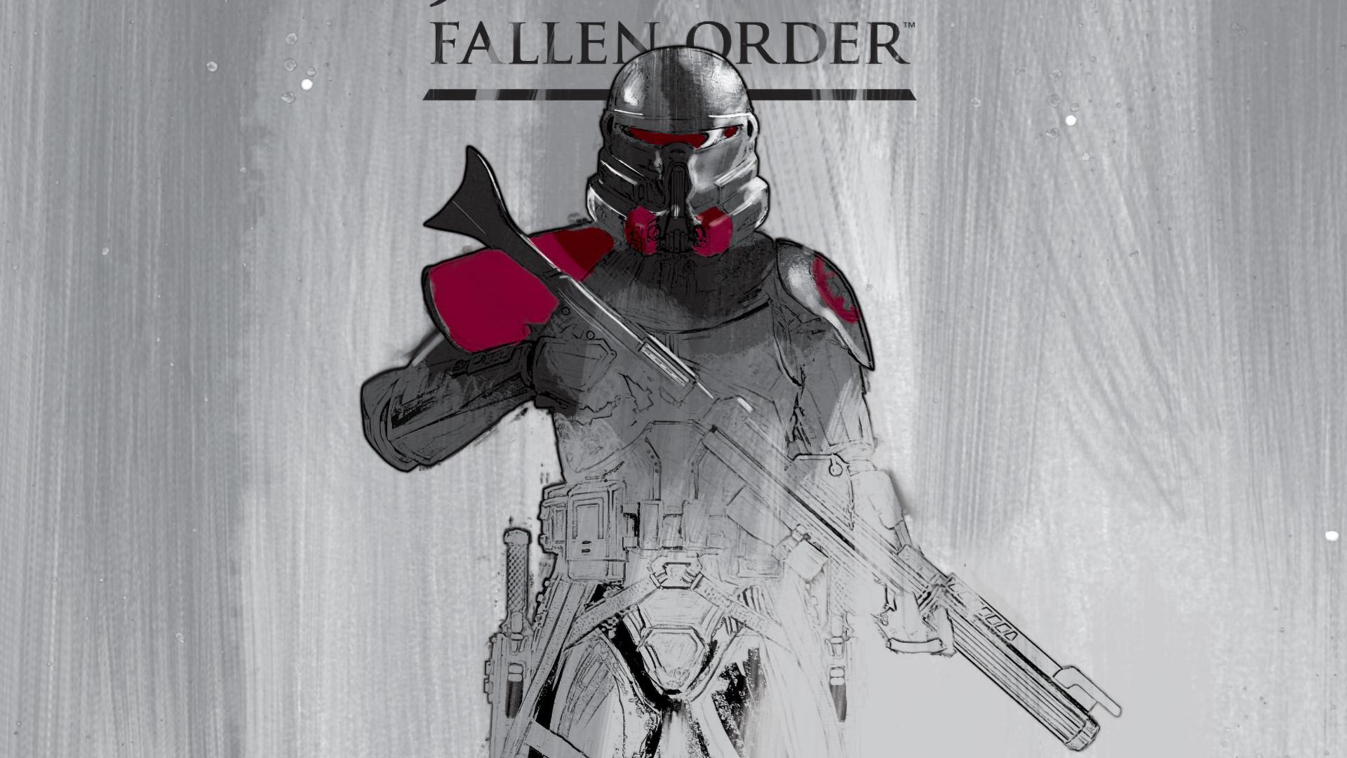 1920x1080 Purge Trooper Star Wars Jedi Fallen Order Art ...