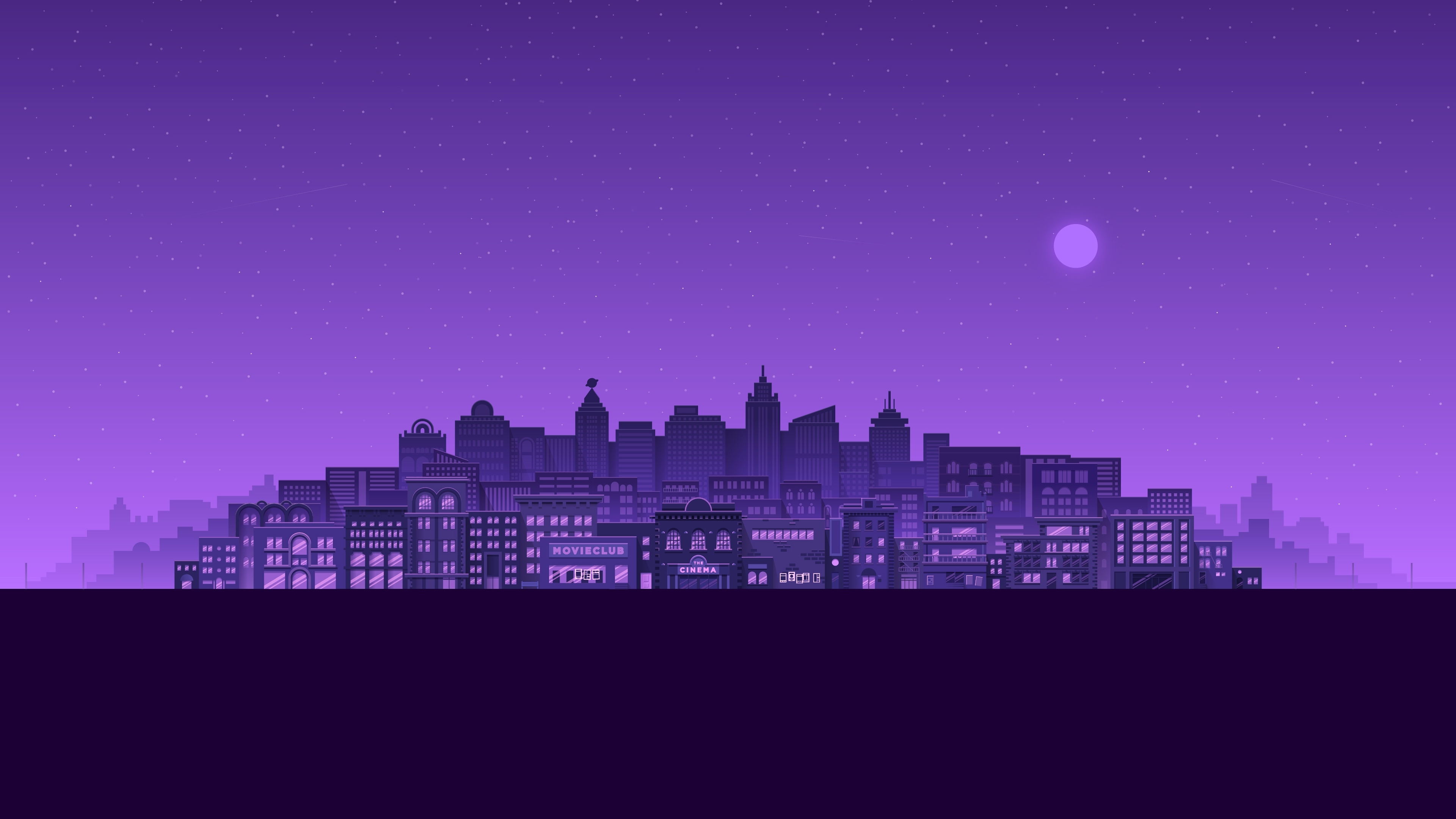 1920x1080 Purple City 1080p Laptop Full Hd Wallpaper Hd Artist 4k Wallpapers Images Photos And Background