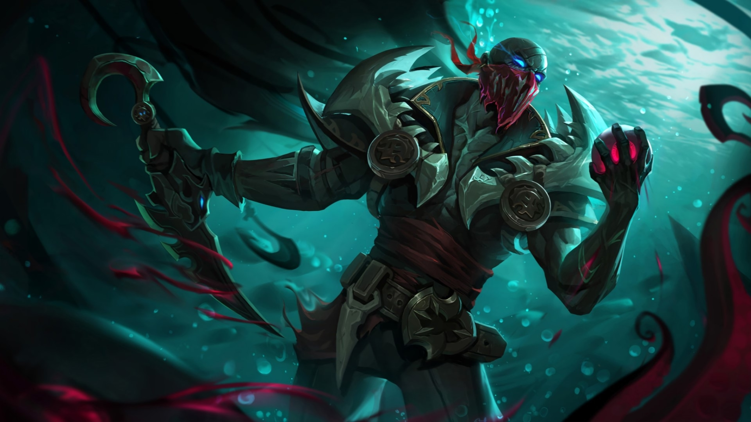 Pyke League Of Legends 1440P Resolution