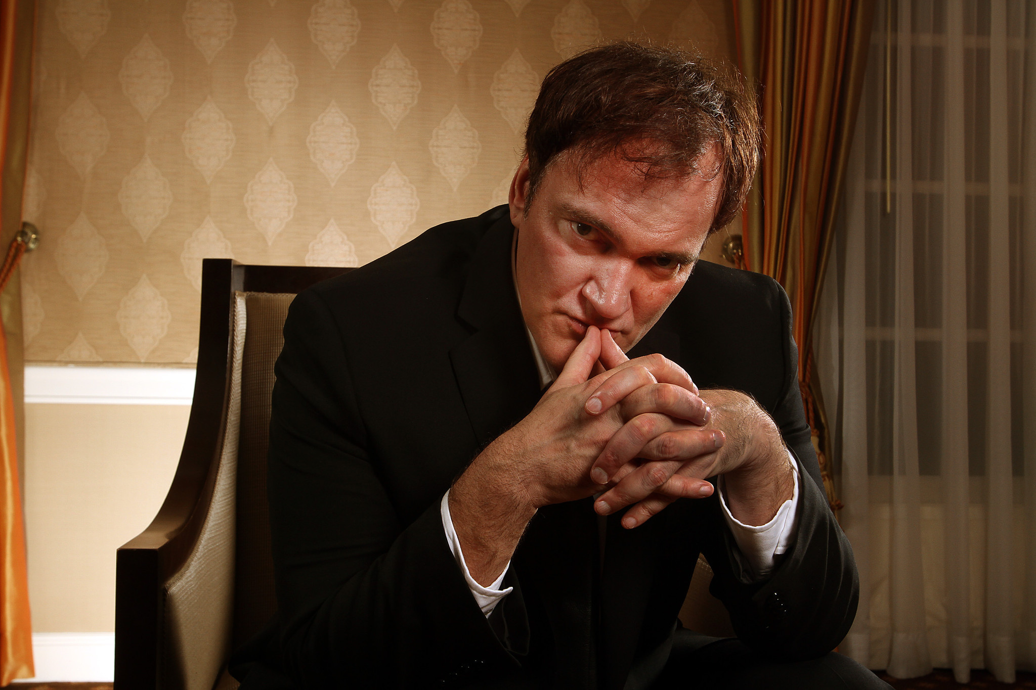 Quentin Tarantino Director View Wallpaper Hd Man 4k