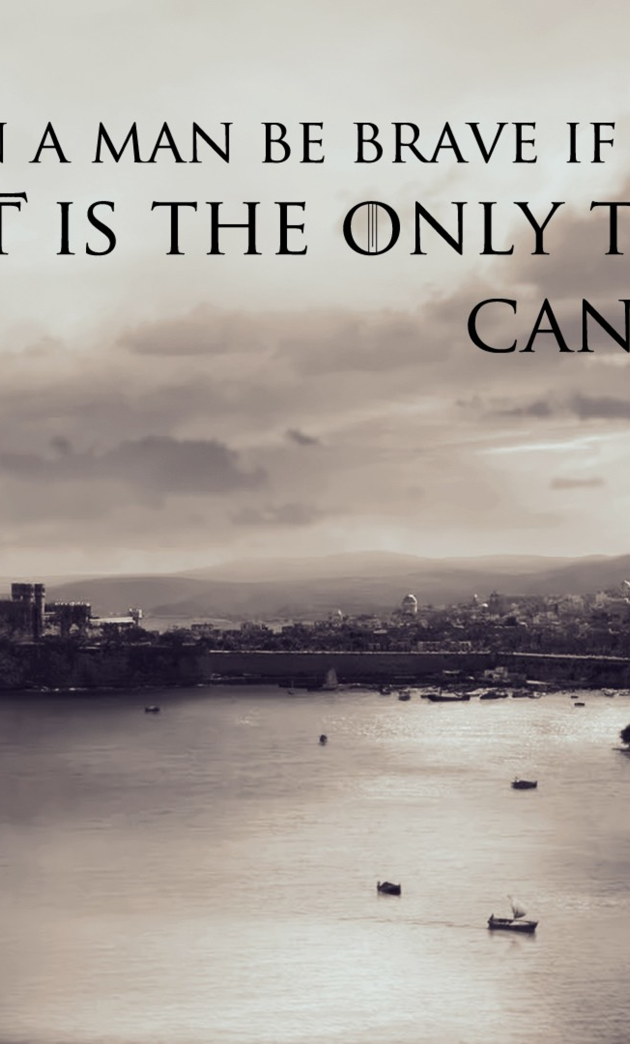 Download Quotes Braviary Eddard Ned Stark Game Of Thrones 2160x3840