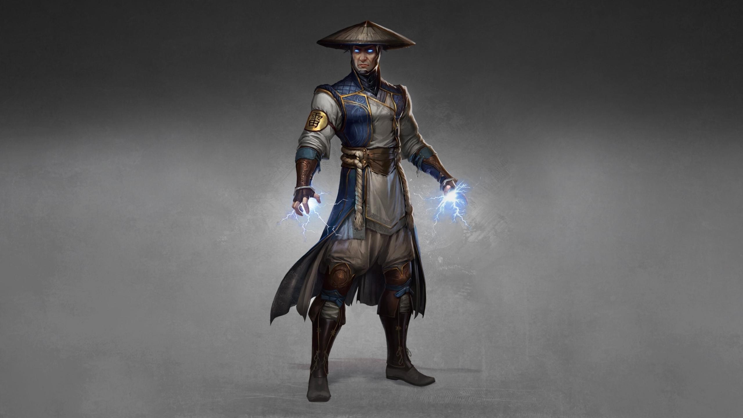 2560x1440 Raiden Mortal Kombat 1440p Resolution Wallpaper Hd