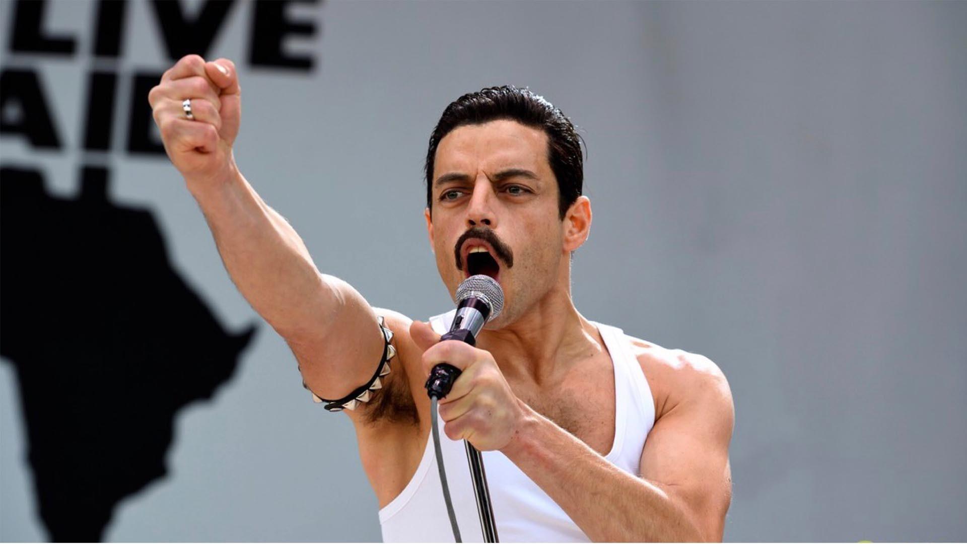 Rami Malek As Freddie Mercury In Bohemian Rhapsody Movie Wallpaper Hd Movies 4k Wallpapers Images Photos And Background Wallpapers Den