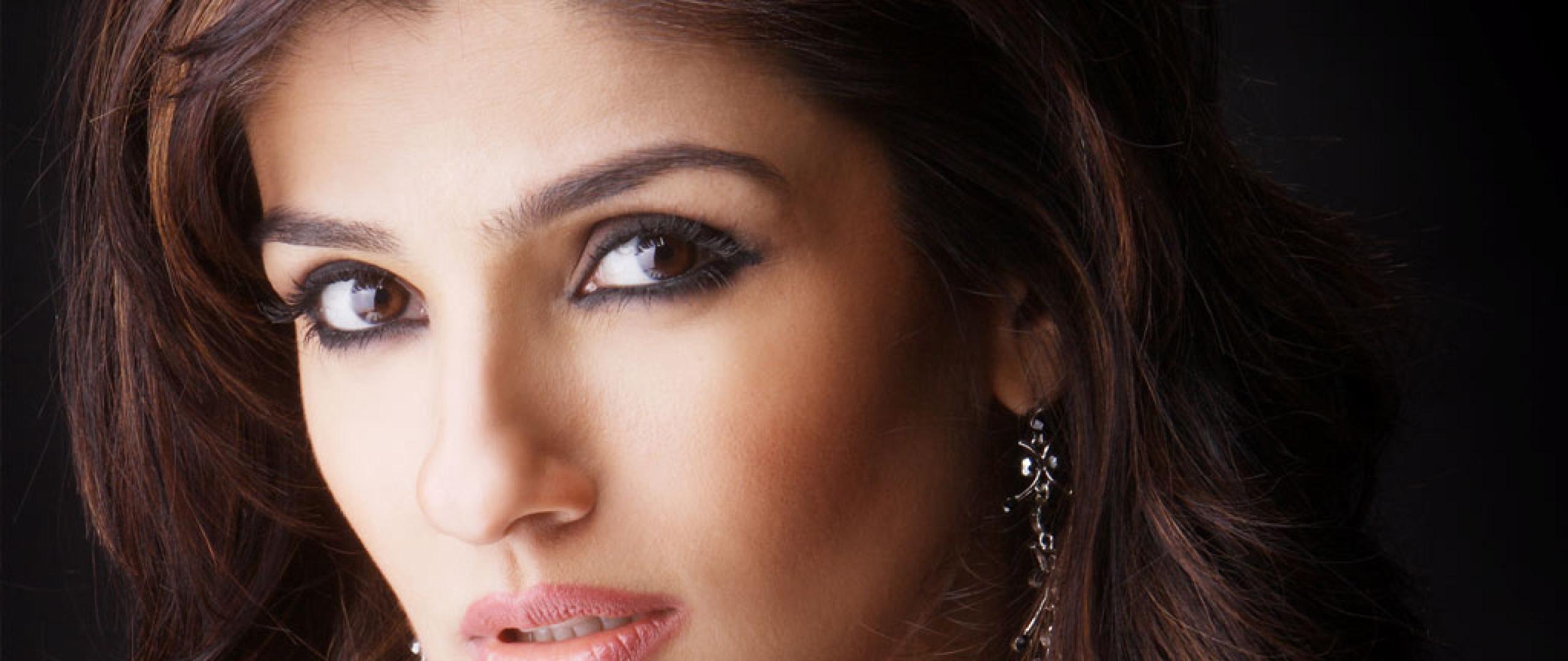 Raveena Tandon Close Up Photoshoot, HD Wallpaper