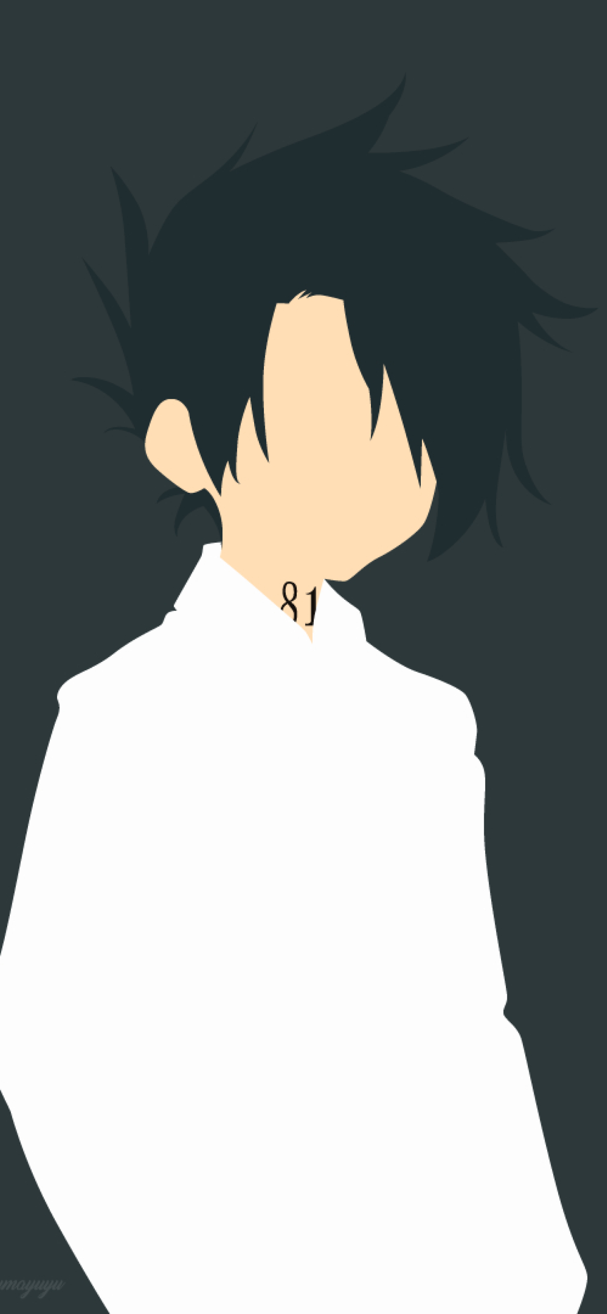1242x2688 Ray The Promised Neverland Minimal Iphone Xs Max