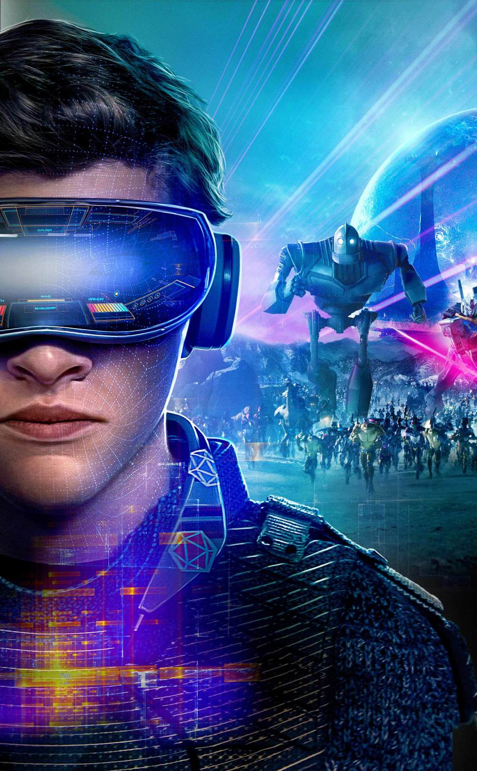 Download Ready Player One International Poster 540x960 Resolution
