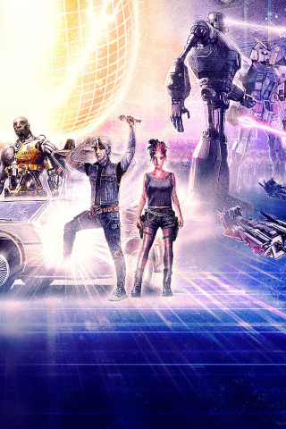 320x480 Ready Player One Movie Artwork Apple Iphone Ipod Touch