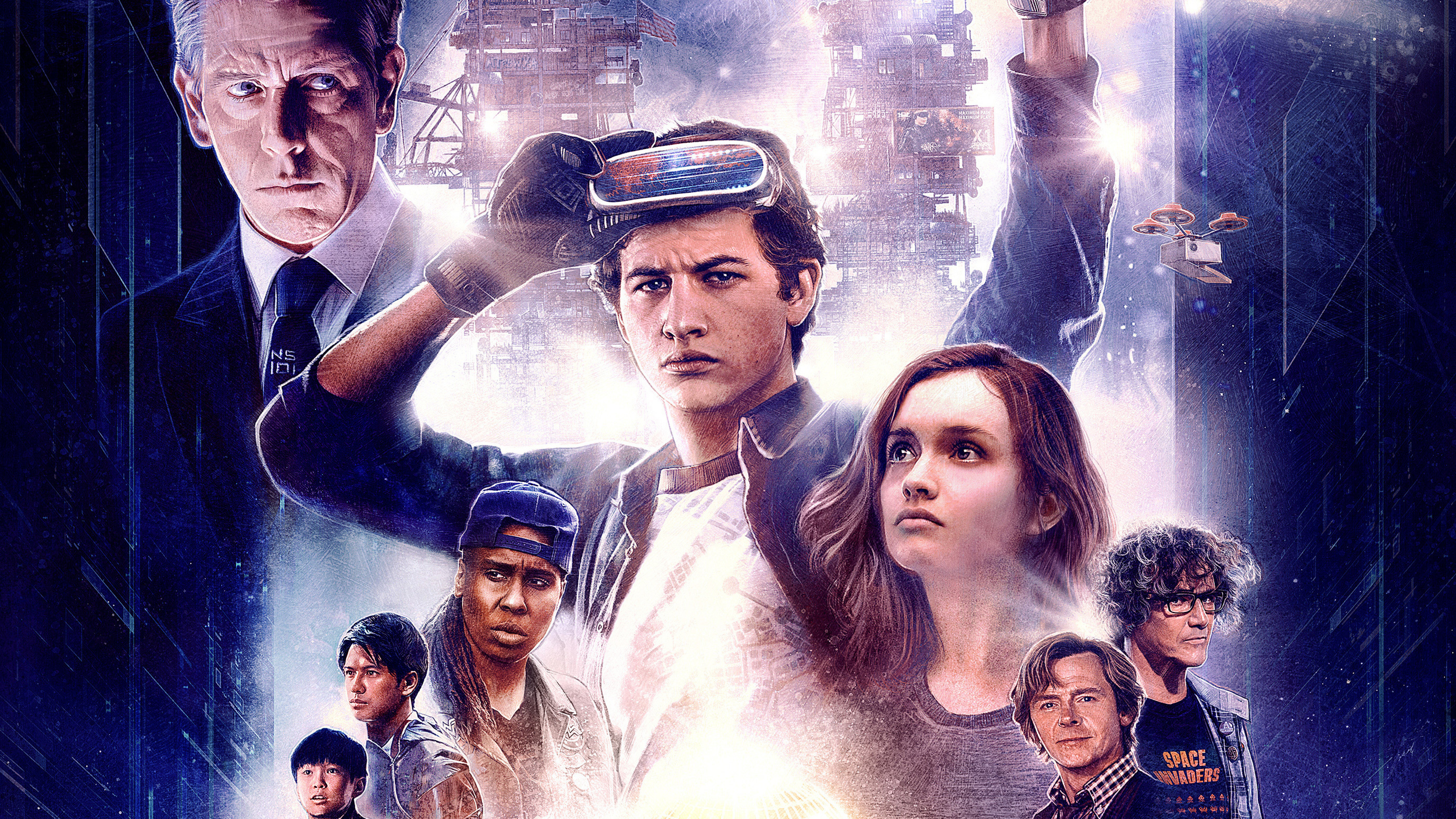 5120x2880 Ready Player One Movie Poster 2018 5K Wallpaper ...