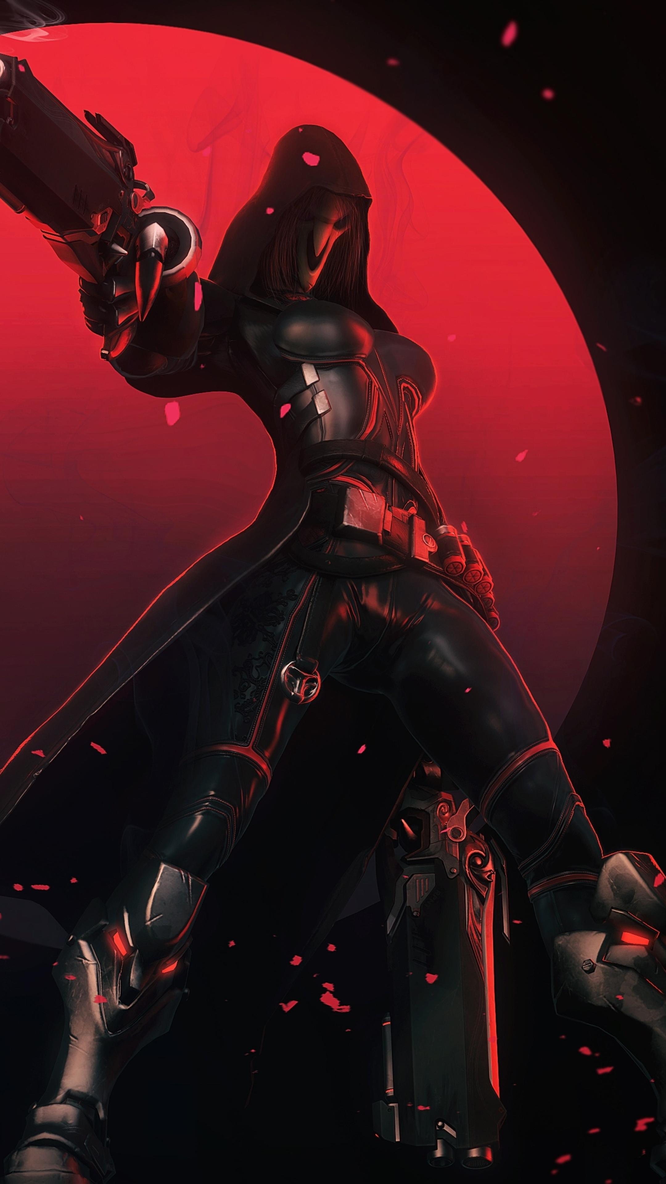 2160x3840 Reaper Overwatch Sony Xperia Xxzz5 Premium
