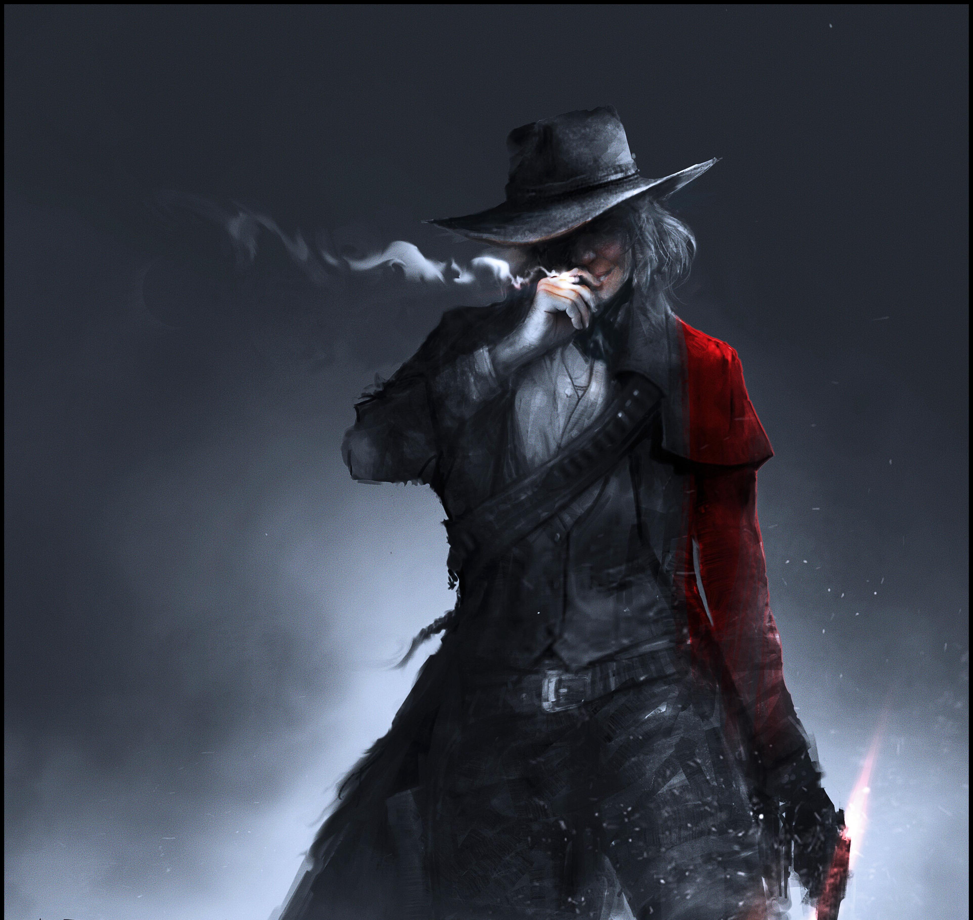 Red Dead Redemption 2 Art Wallpaper, HD Games 4K ...