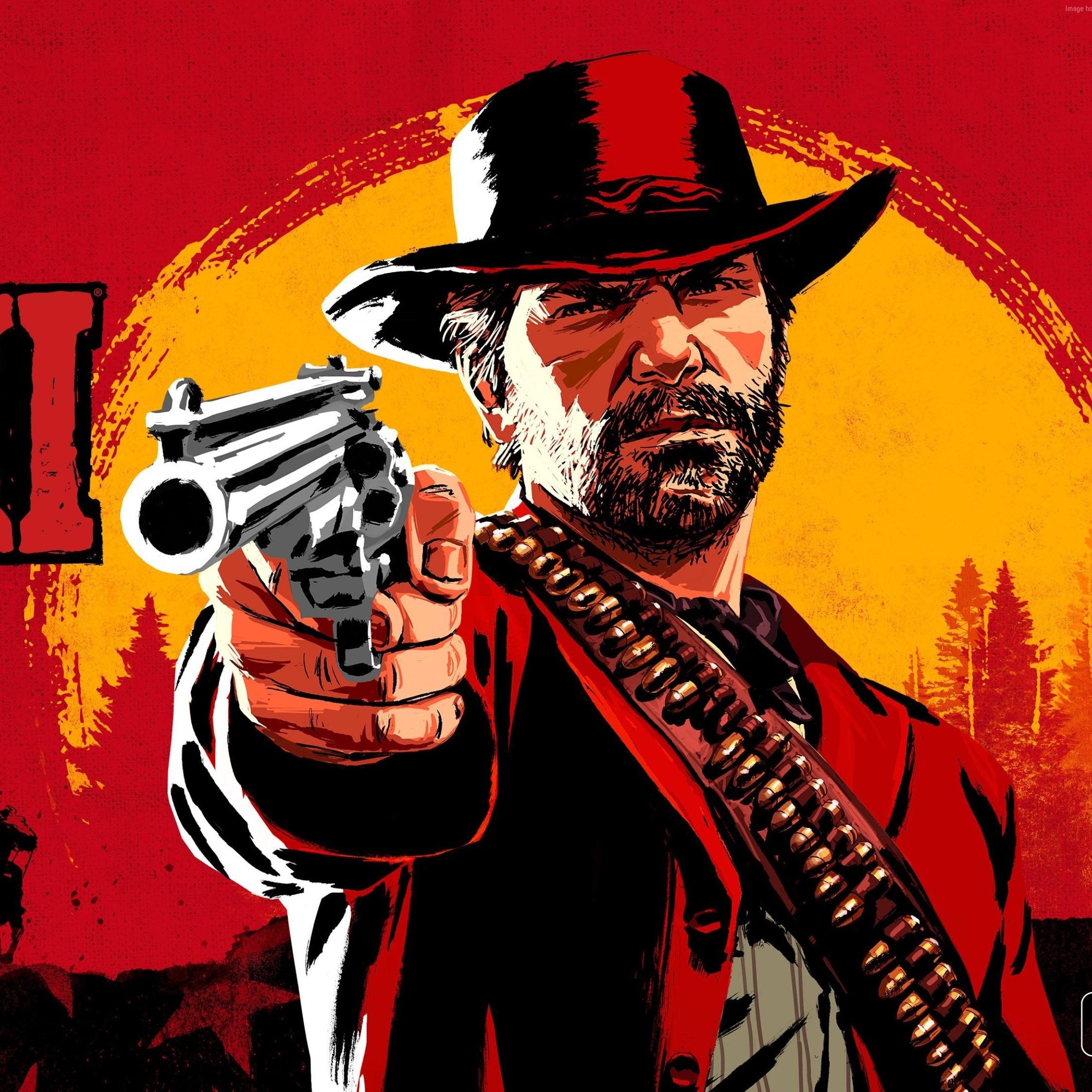 Red Dead Redemption Wallpaper Hd: Red Dead Redemption 2 Game Poster 2018, HD 4K Wallpaper