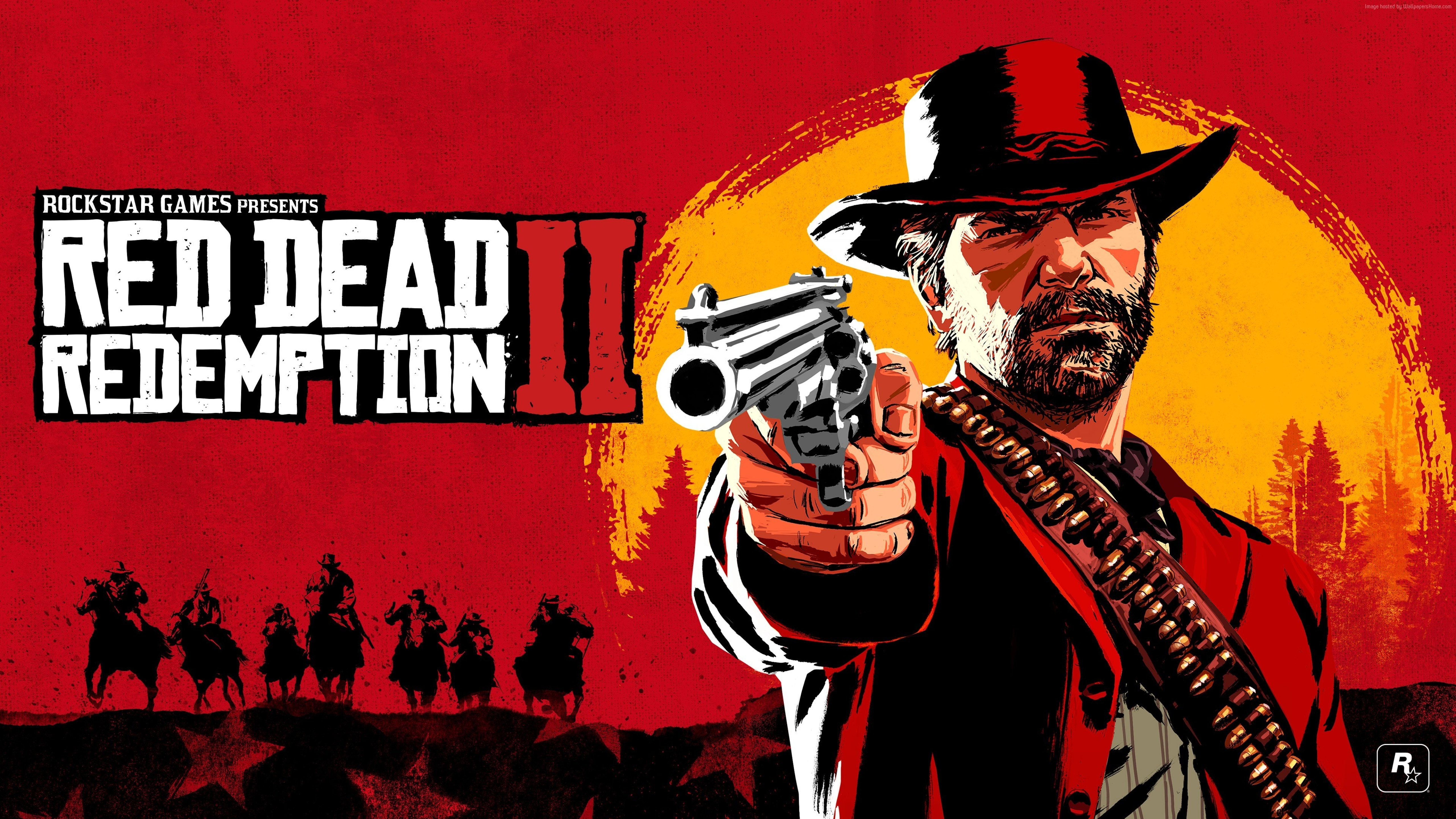 5120x2880 Red Dead Redemption 2 Game Poster 2018 5K ...