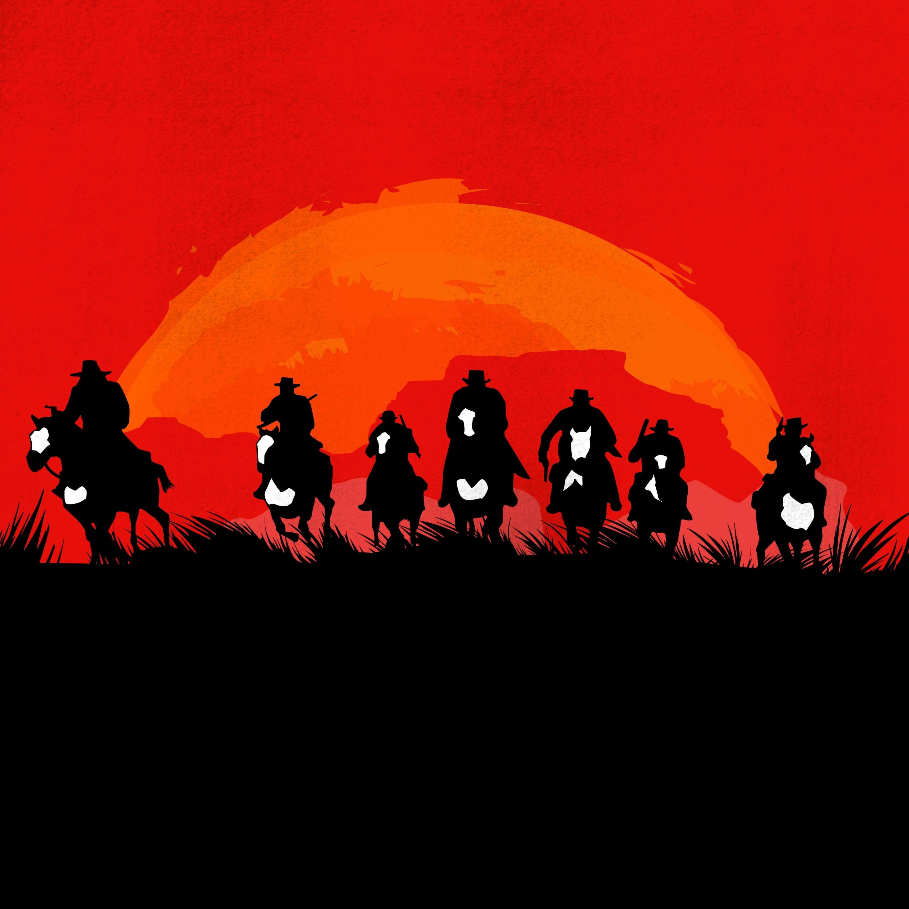 Red Dead Redemption Wallpaper Hd: Red Dead Redemption 2 Game, HD 8K Wallpaper
