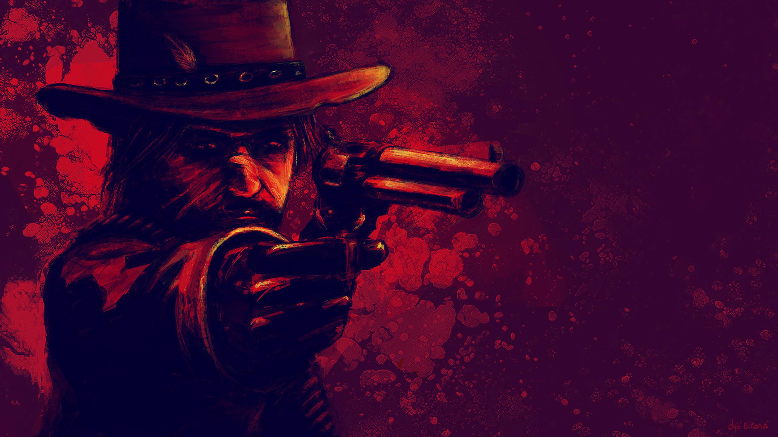 2560x1440 Red Dead Redemption 2 John Marston 1440p Resolution