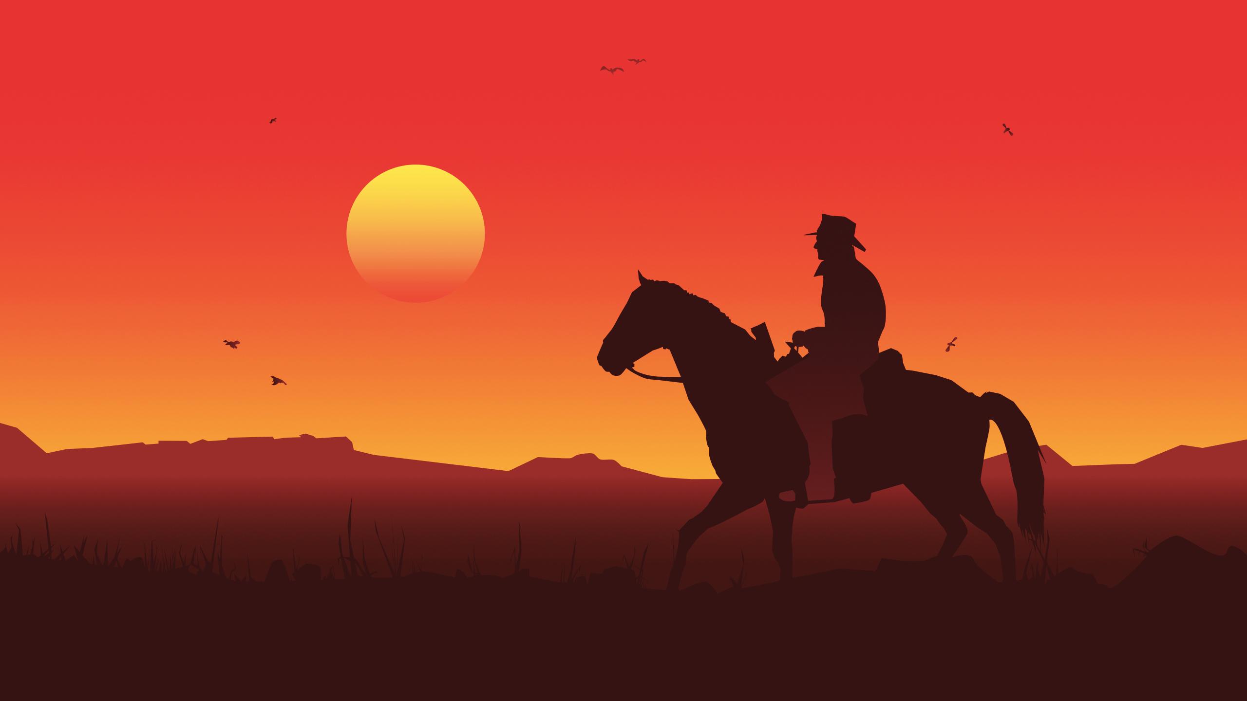2560x1440 Red Dead Redemption 2 1440P Resolution Wallpaper ...