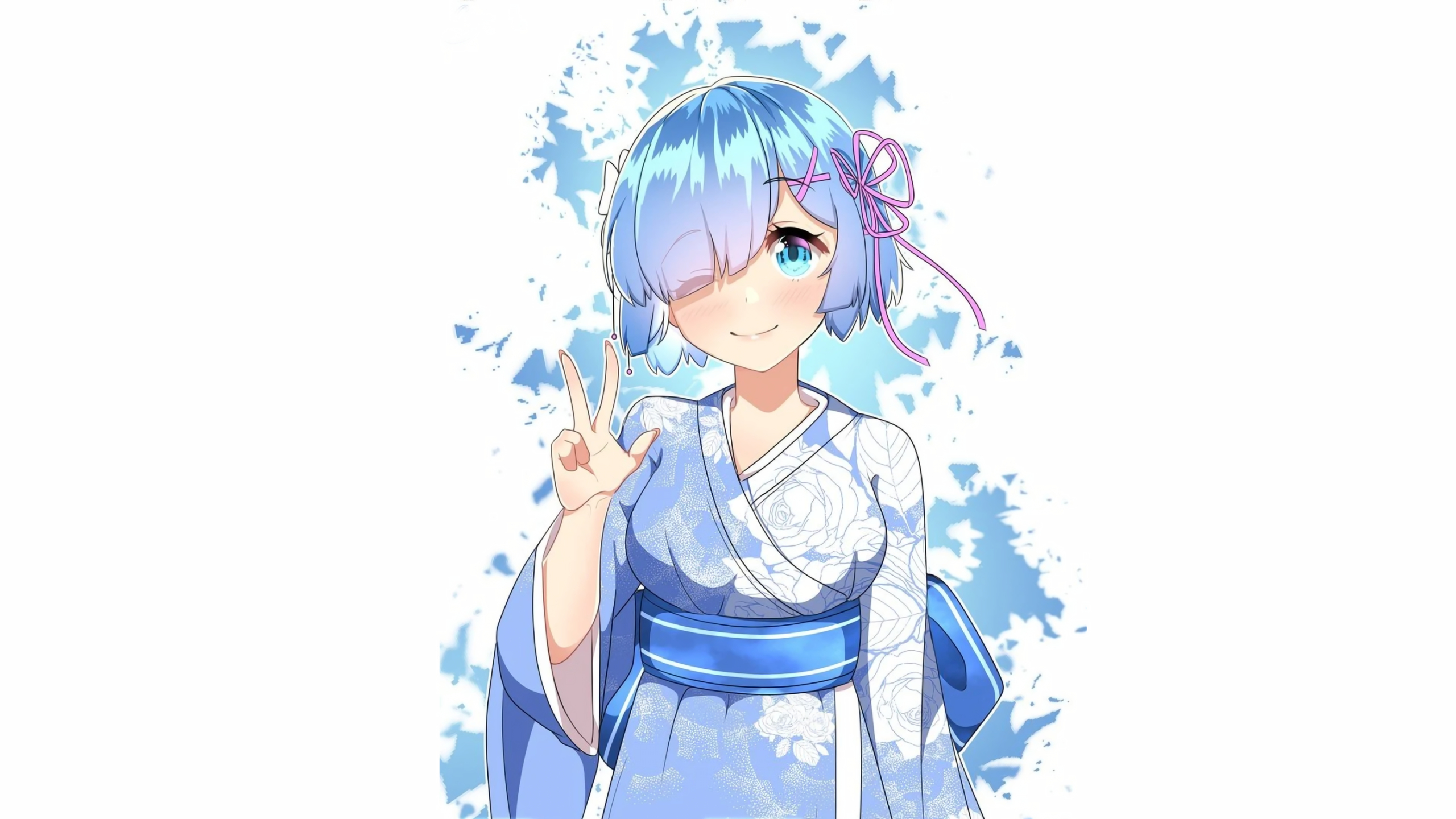 2560x1440 Rem 1440p Resolution Wallpaper Hd Anime 4k Wallpapers Images Photos And Background