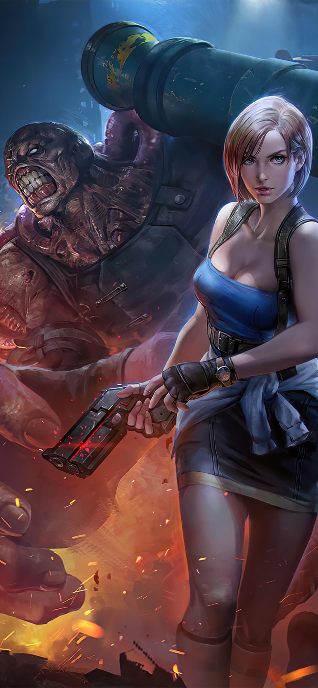 1242x2688 Resident Evil 2020 Iphone XS MAX Wallpaper, HD ...