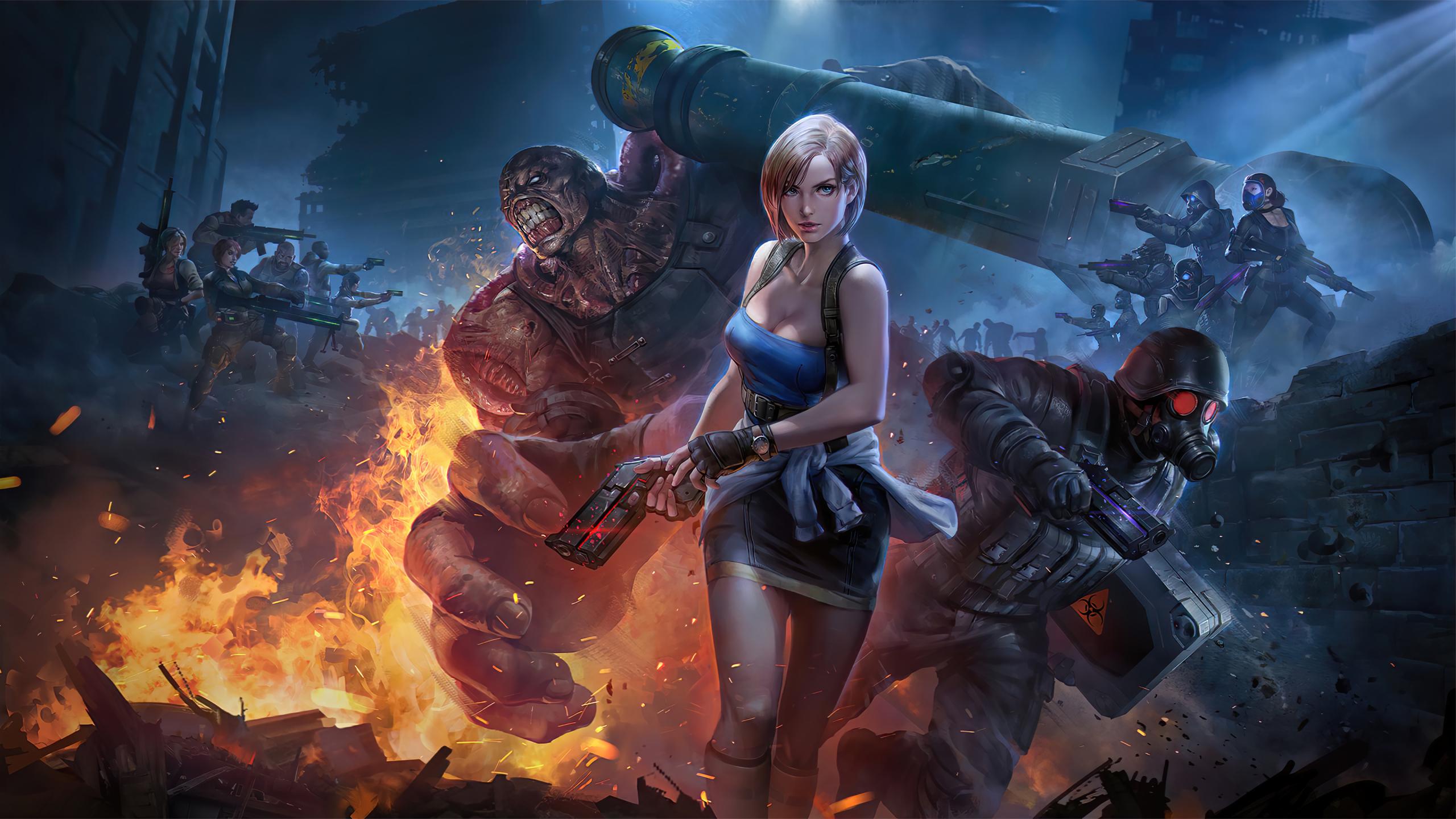 2560x1440 Resident Evil 2020 1440P Resolution Wallpaper ...