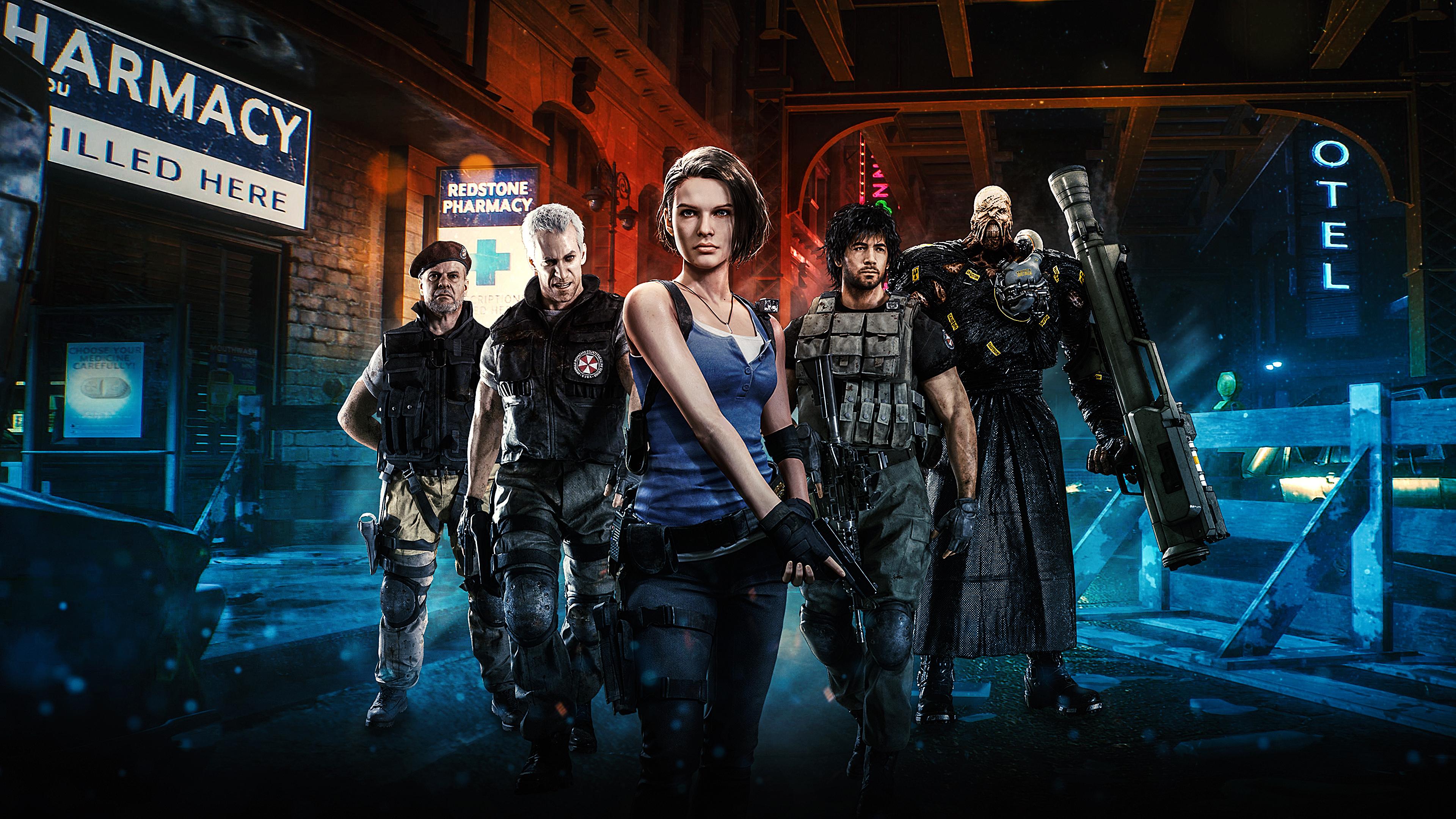 Resident Evil 3 2020 Remake Wallpaper Hd Games 4k Wallpapers