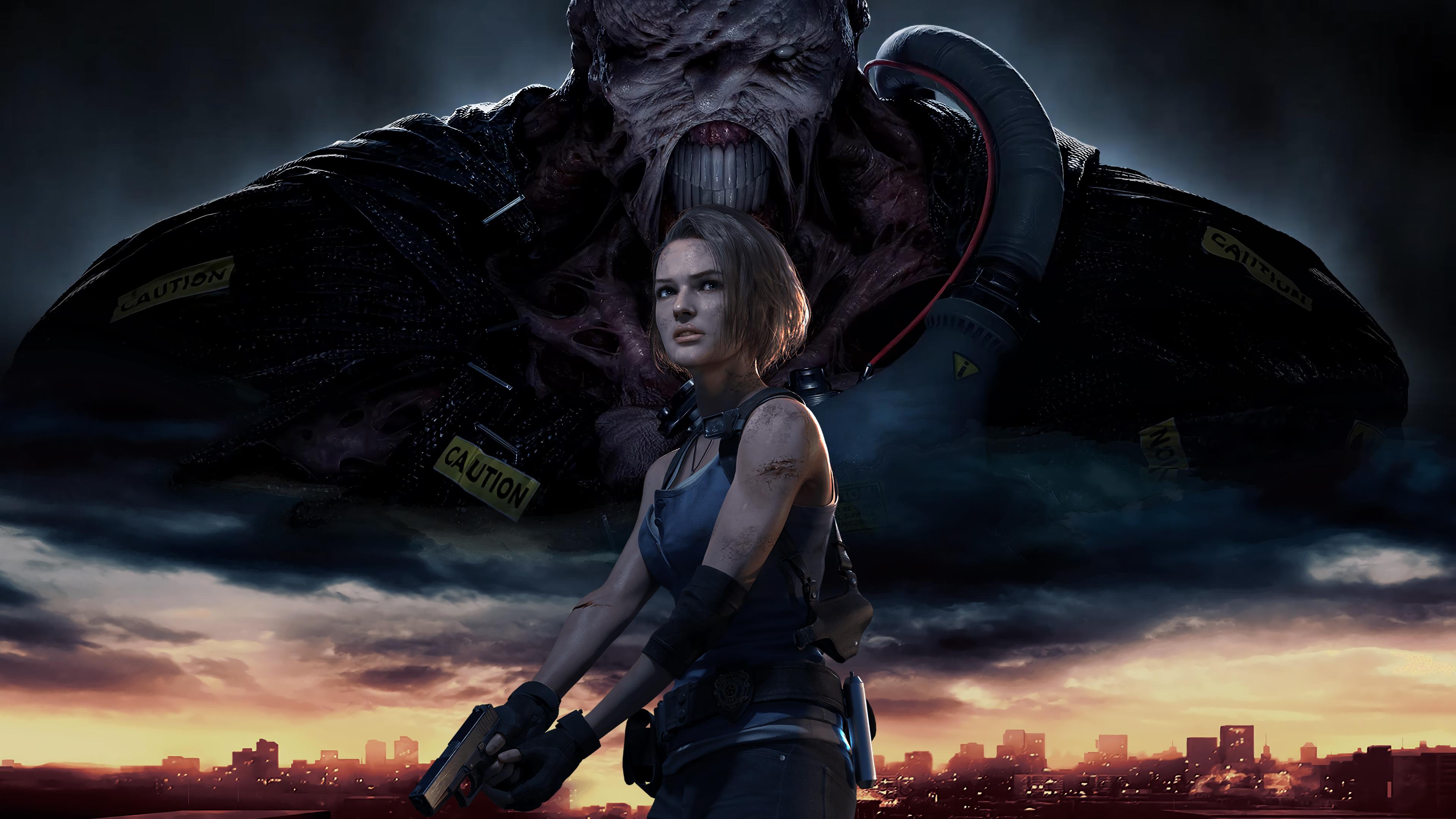 Resident Evil 3 Remake 4k Wallpaper, HD Games 4K ...