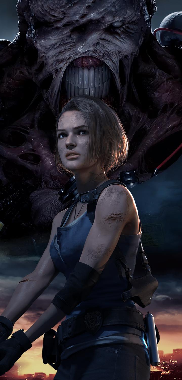 720x1500 Resident Evil 3 Remake 4k 720x1500 Resolution ...